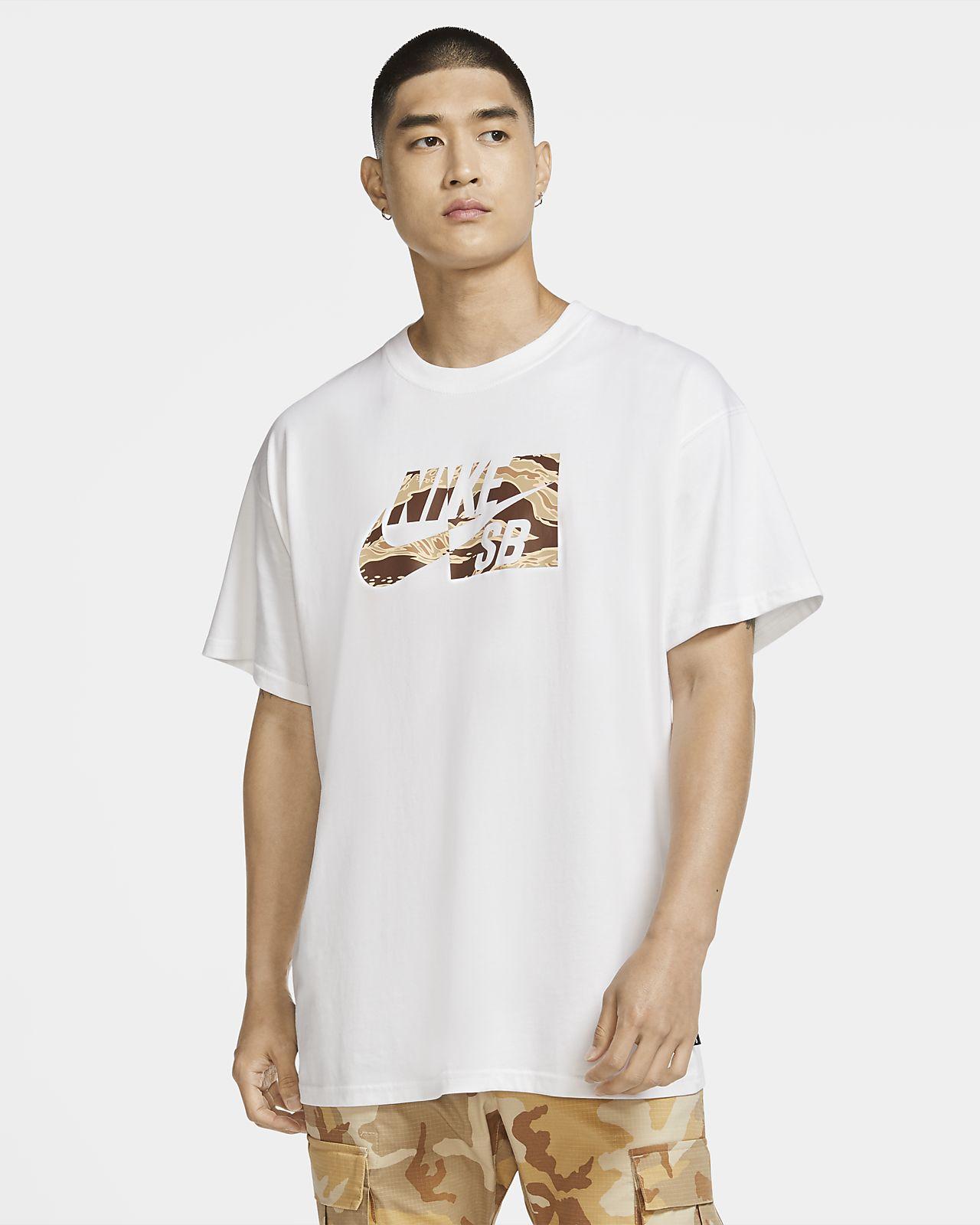 Nike SB Skateshirt met camouflageprint voor heren