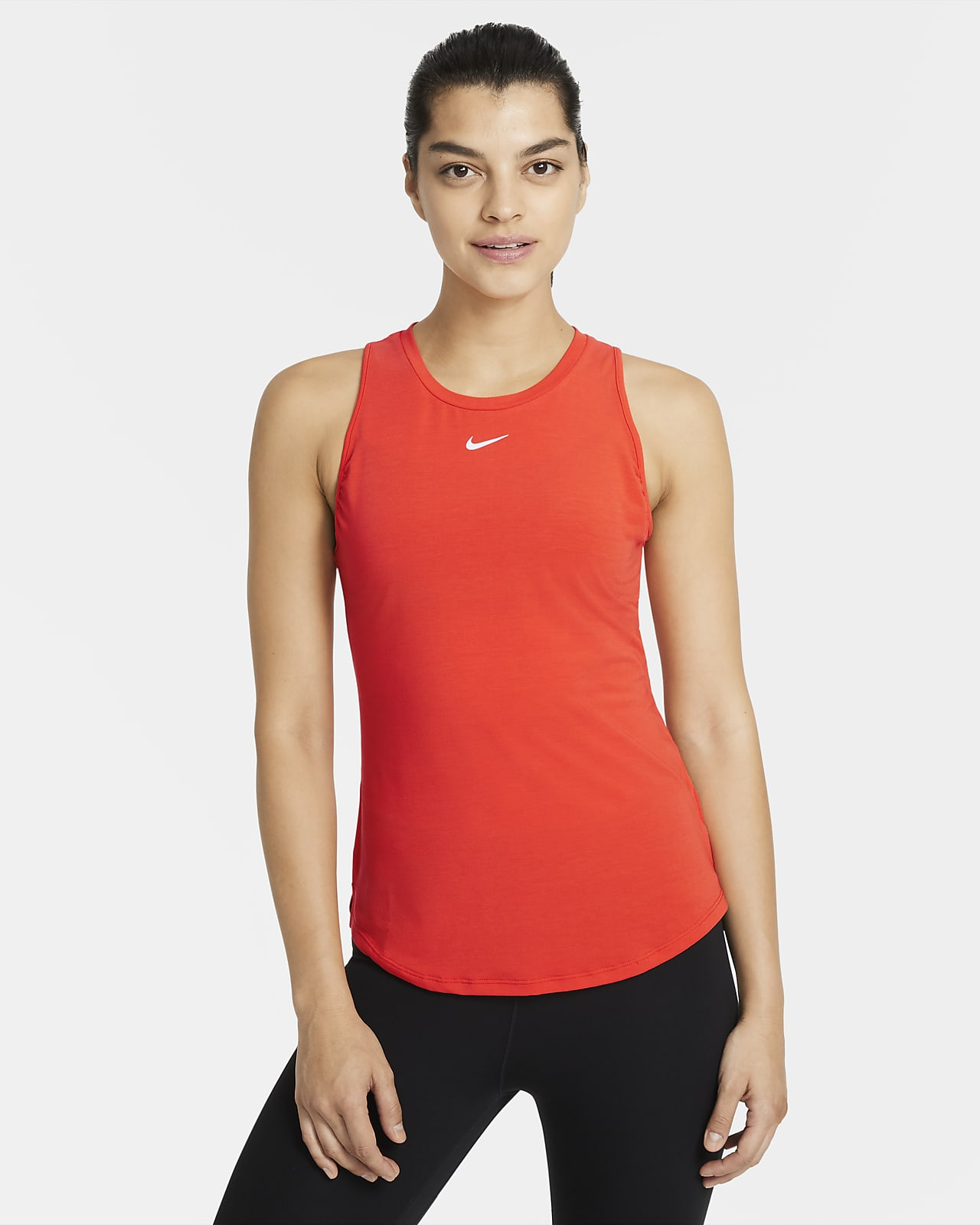 Nike Dri-FIT One Luxe singlet med standard passform til dame