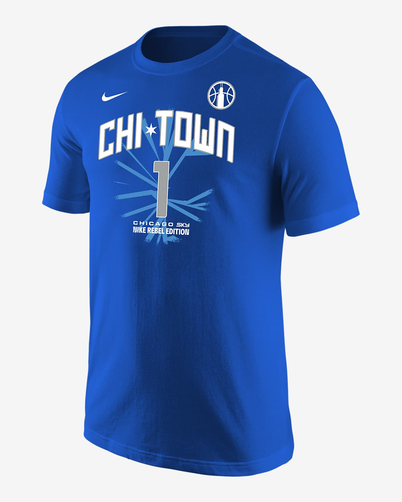 Diamond DeShields Sky Rebel Edition Nike WNBA T-Shirt