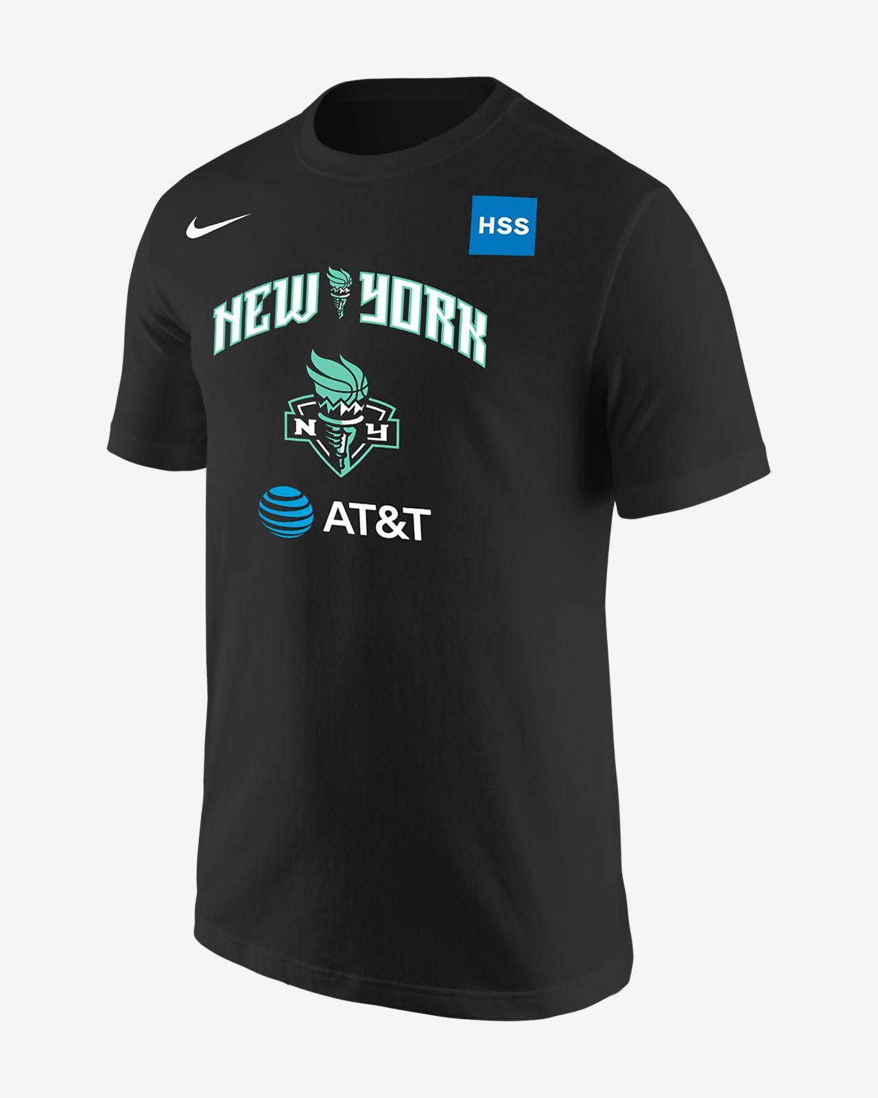 Playera de Nike WNBA para hombre Sabrina Ionescu New York Liberty