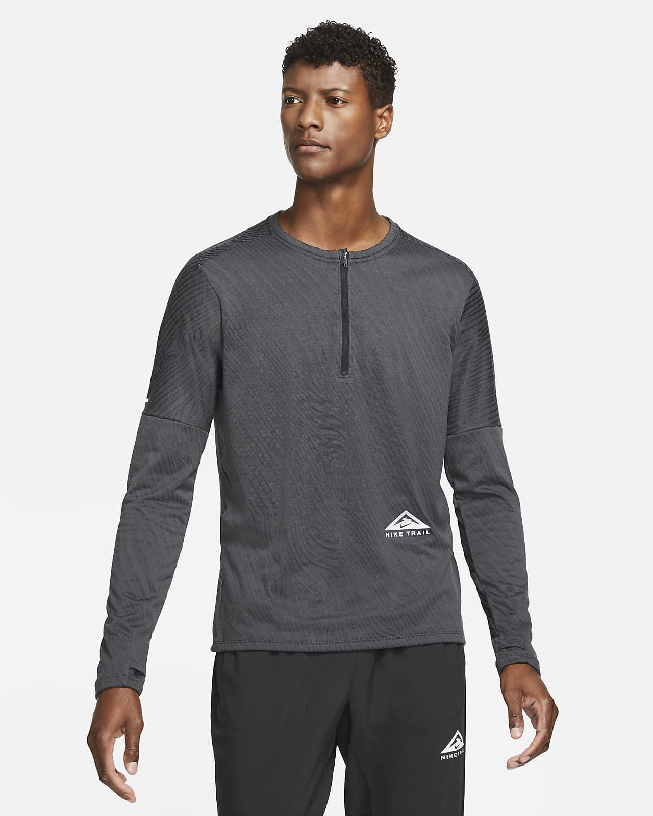 Haut de running sur sentier à demi-zip Nike Dri-FIT pour Homme
