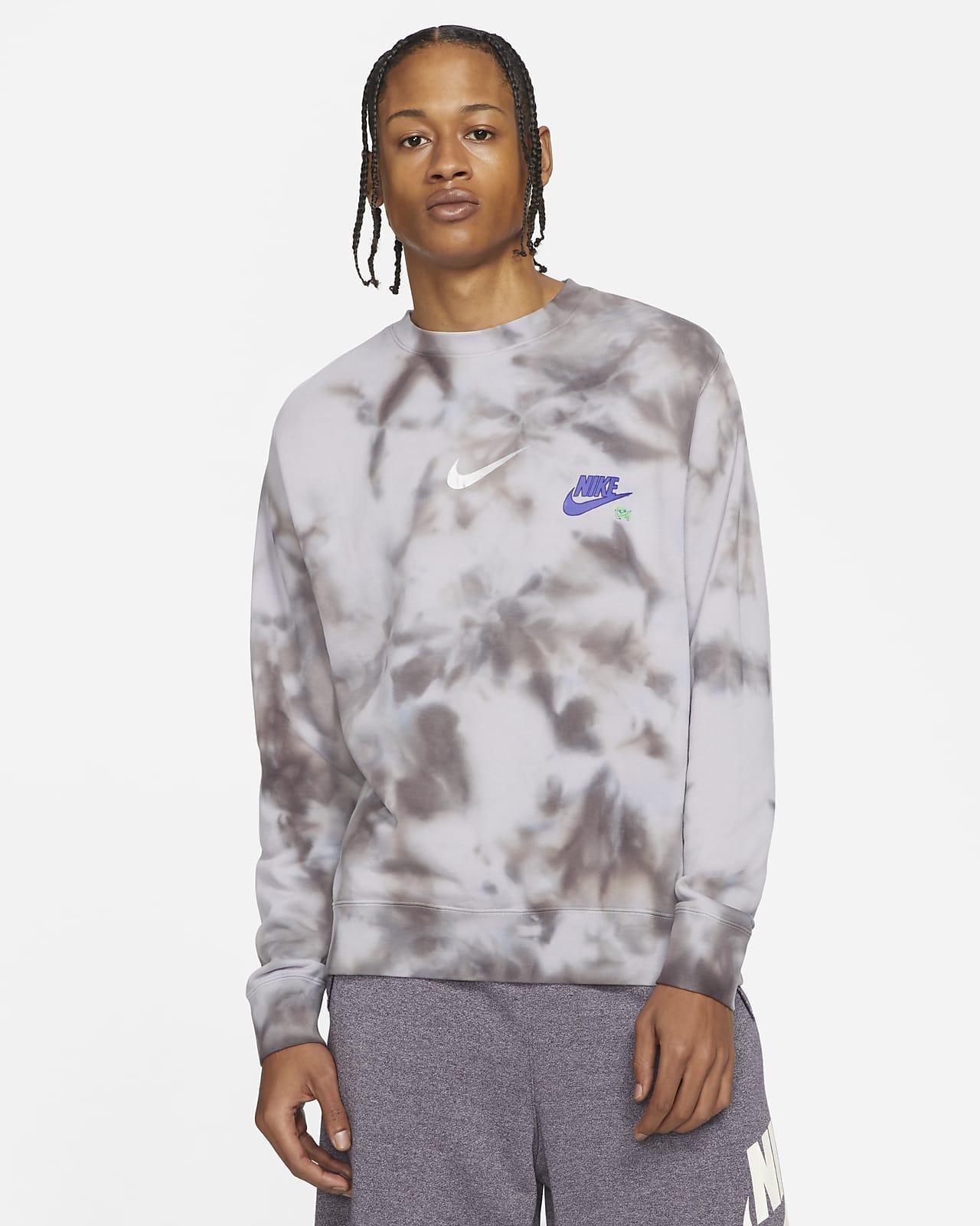 Nike Sportswear Club Men's Tie-Dye French Terry Top
