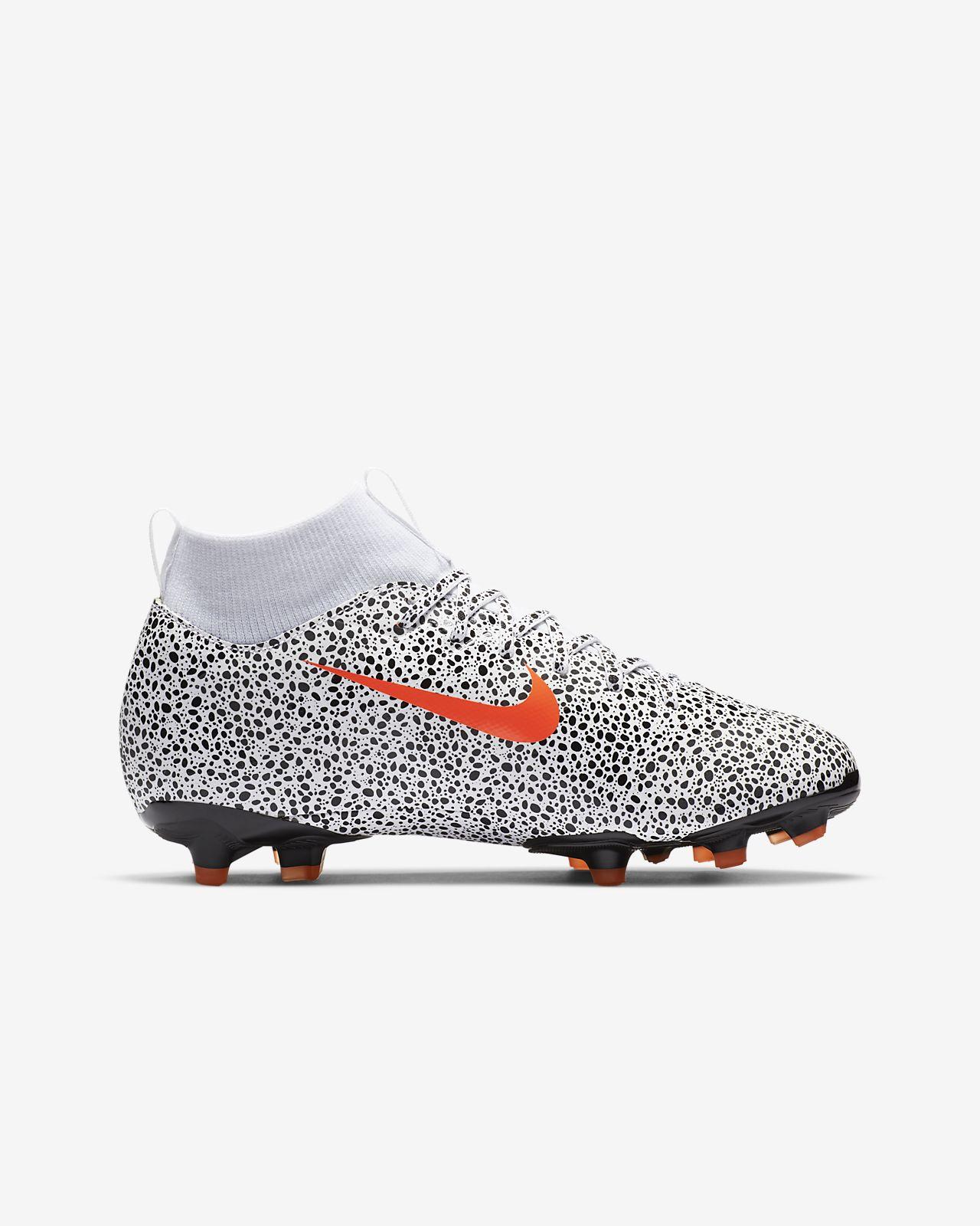 Chaussure de football à crampons multi surfaces Nike Jr. Mercurial Superfly 7 Academy CR7 Safari MG pour Jeune enfantEnfant plus âgé