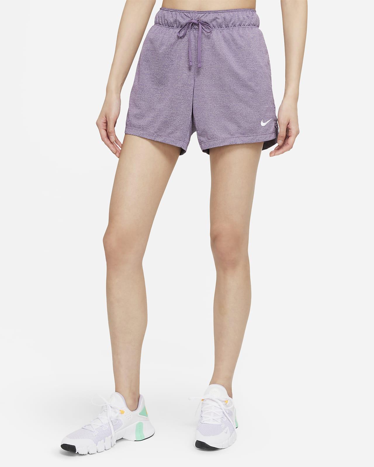 กางเกงเทรนนิ่งขาสั้นผู้หญิง Nike Dri-FIT Attack