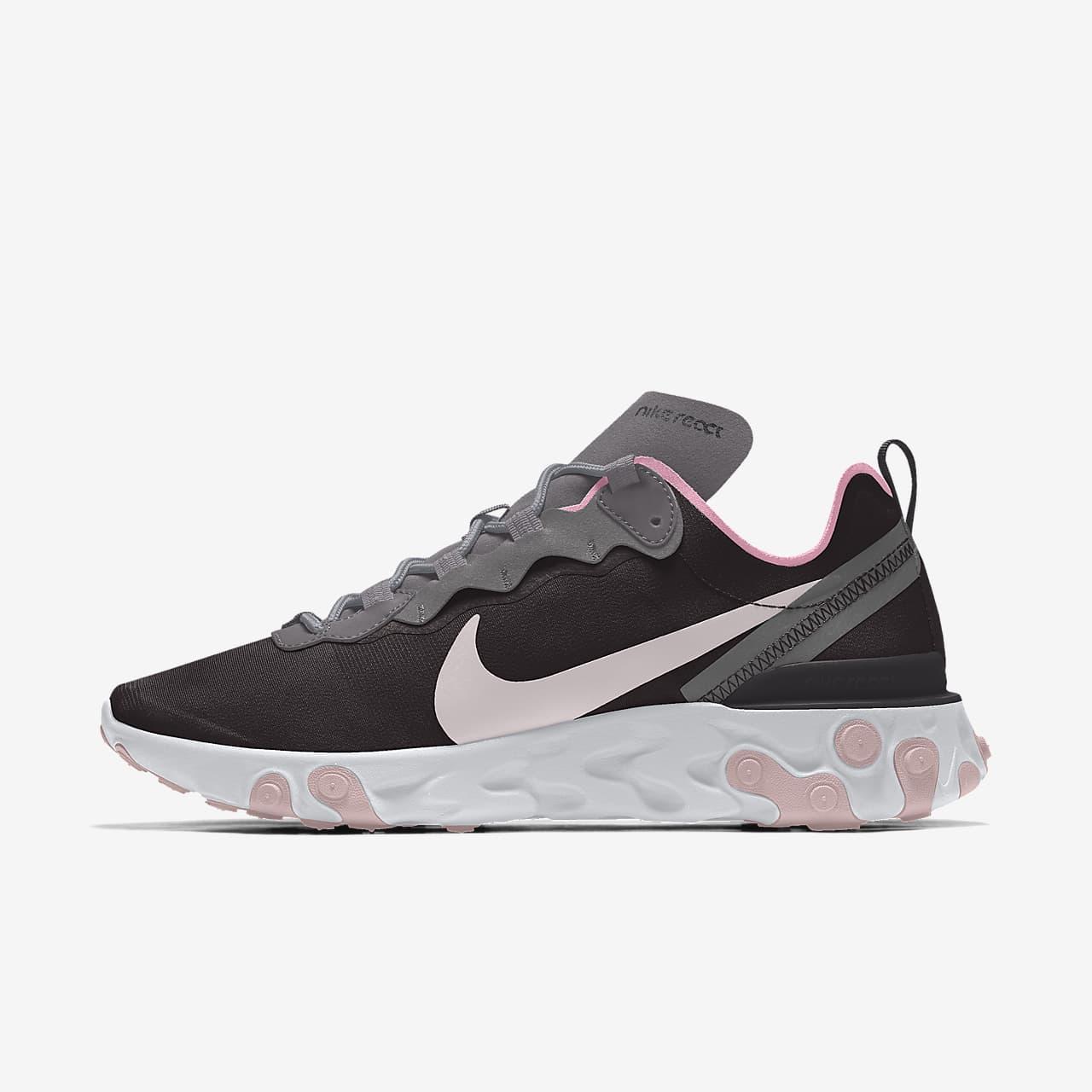 Nike React Element 55 By You 專屬訂製女款運動生活鞋