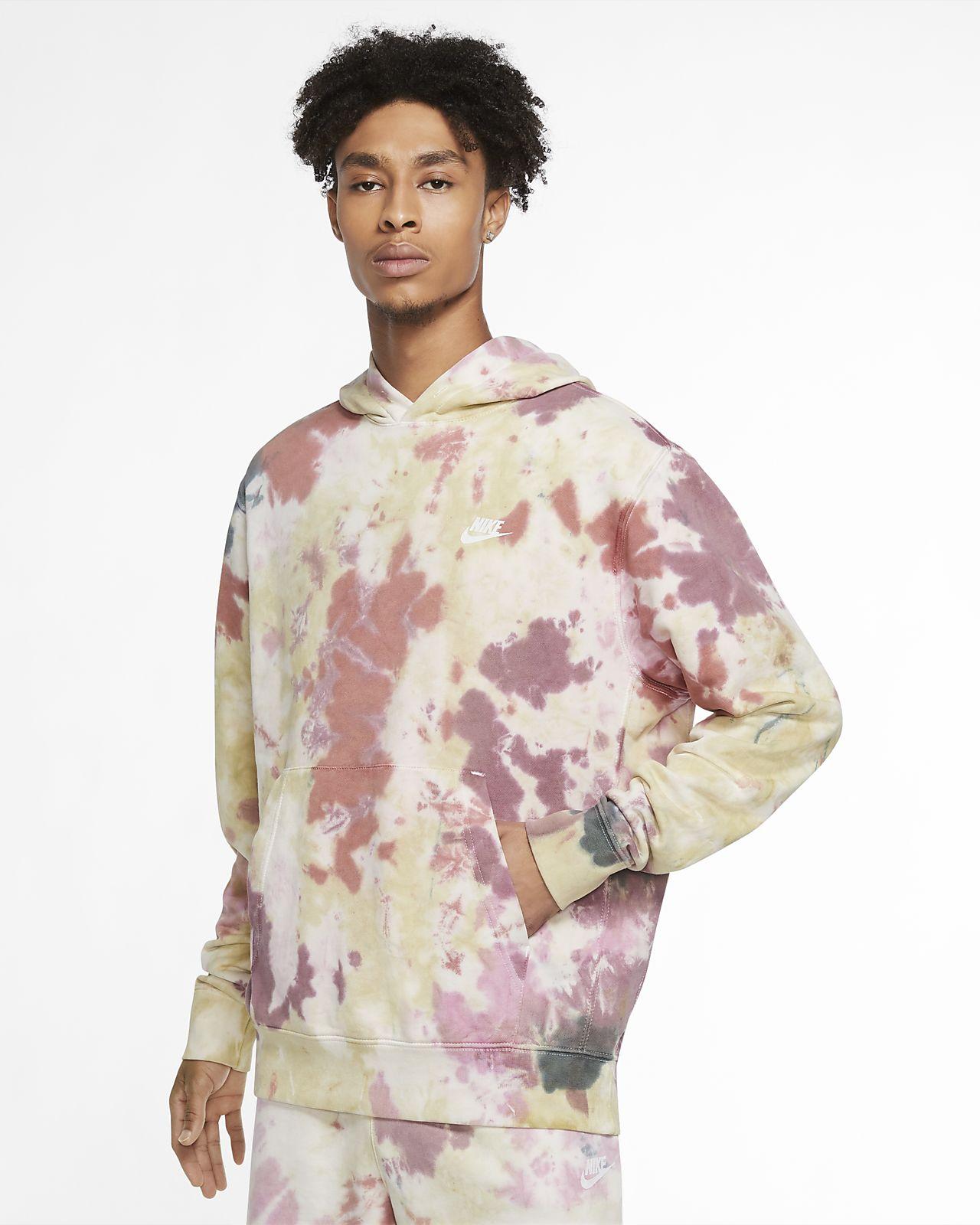 Sweat à capuche tie-dye Nike Sportswear