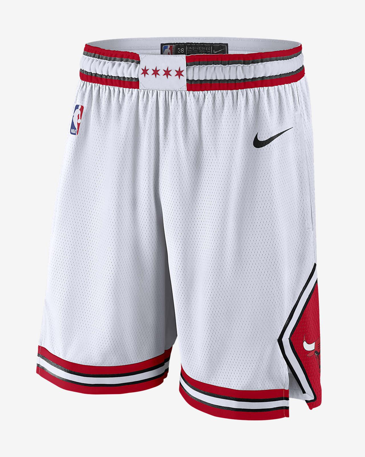 Chicago Bulls Association Edition Men's Nike NBA Swingman Shorts