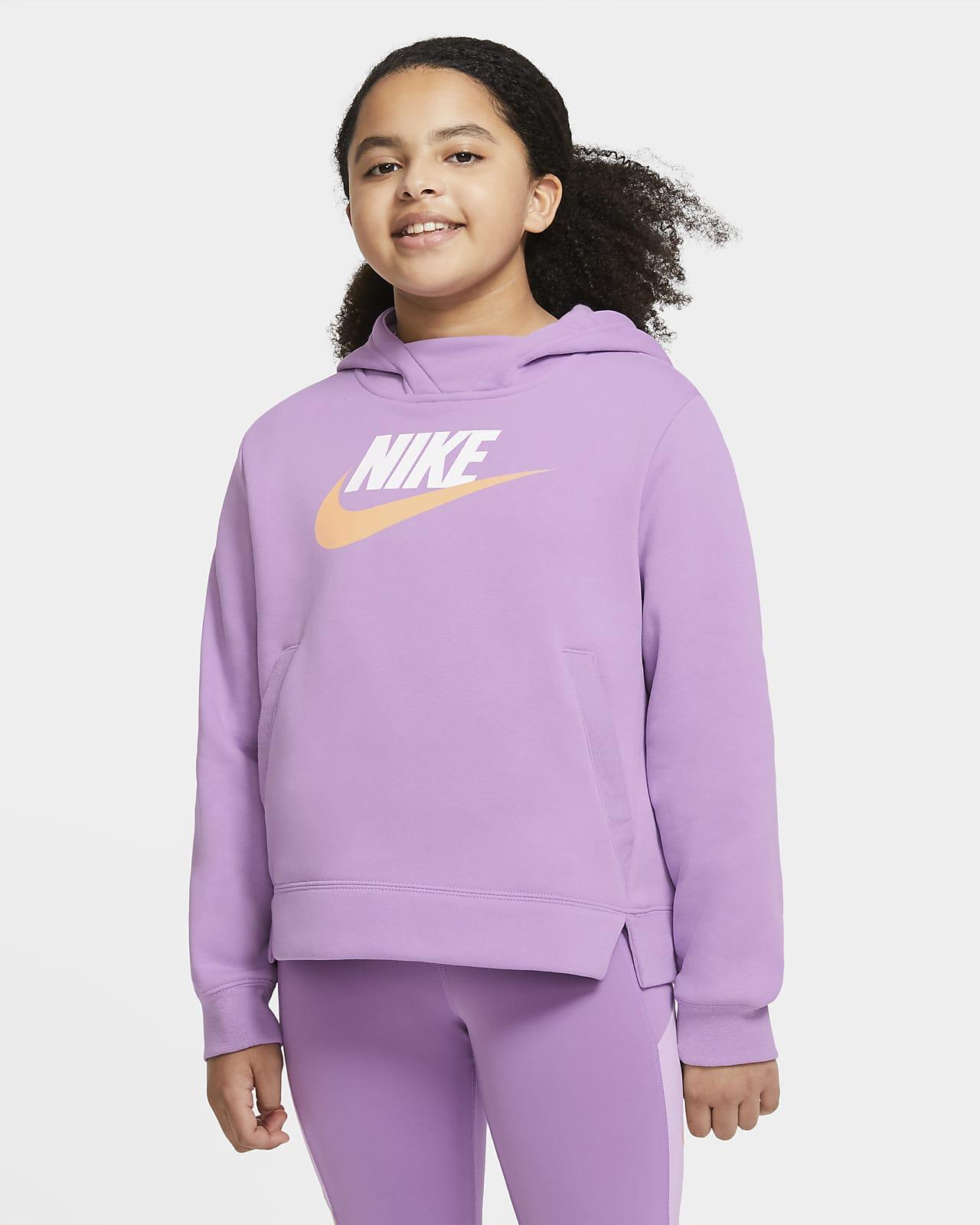 Sweat à capuche Nike Sportswear pour Fille plus âgée (grande taille)