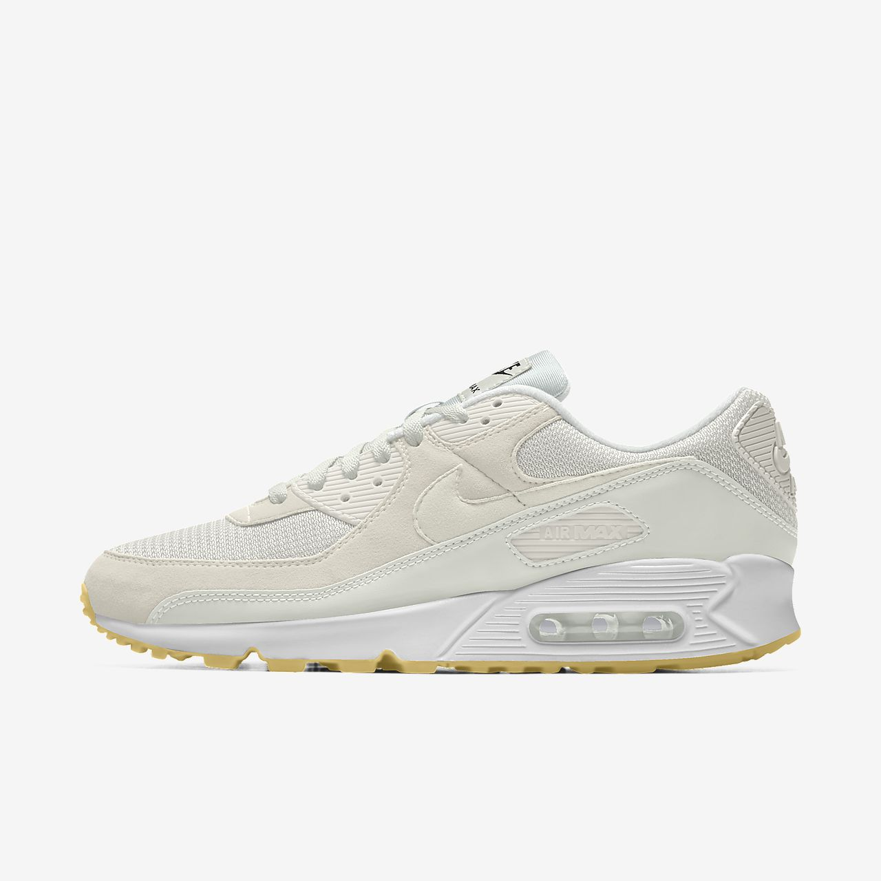 nike air max 95 trainers in off white with gum sole nz|Free