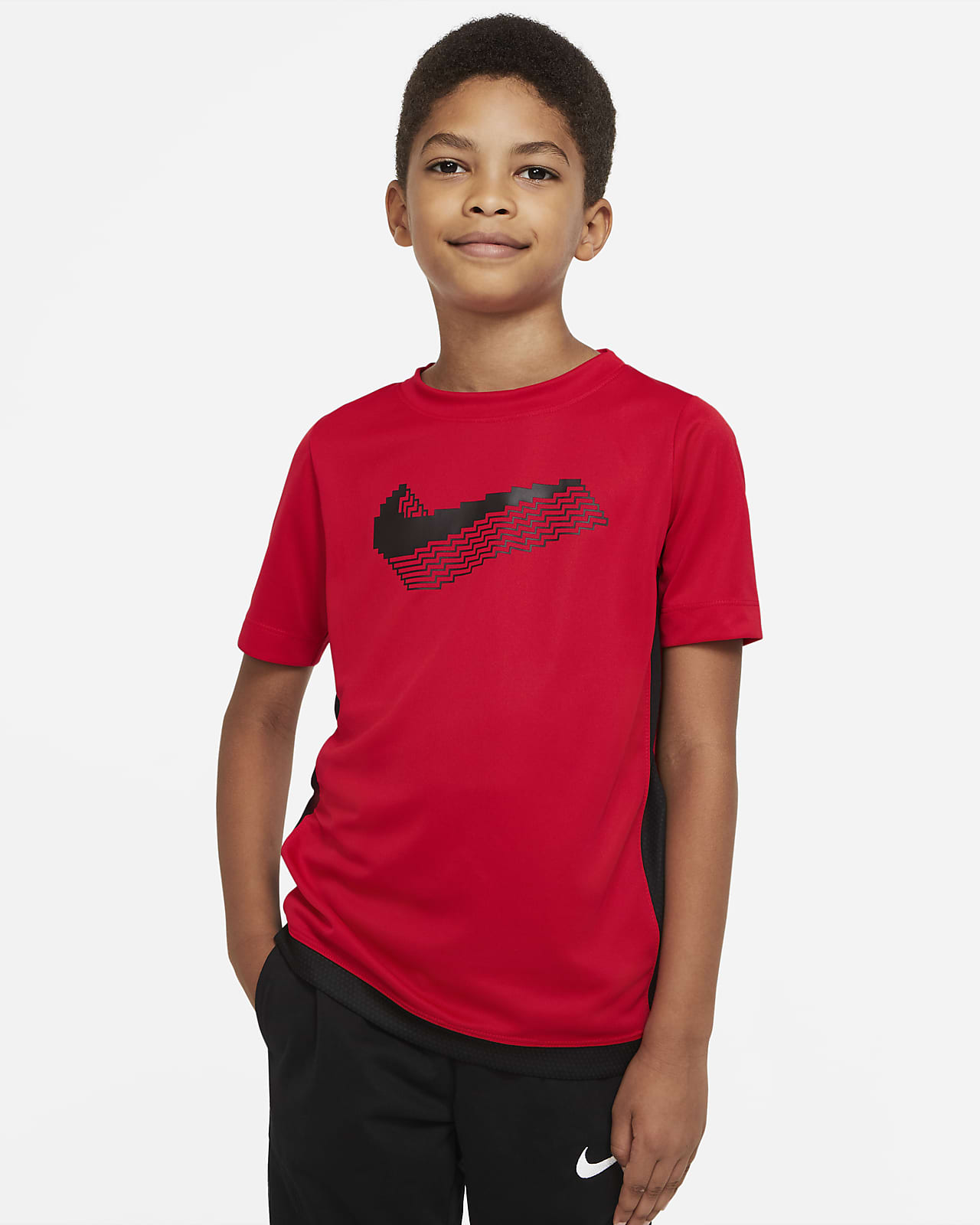 Nike Trophy Older Kids' (Boys') Graphic Short-Sleeve Training Top
