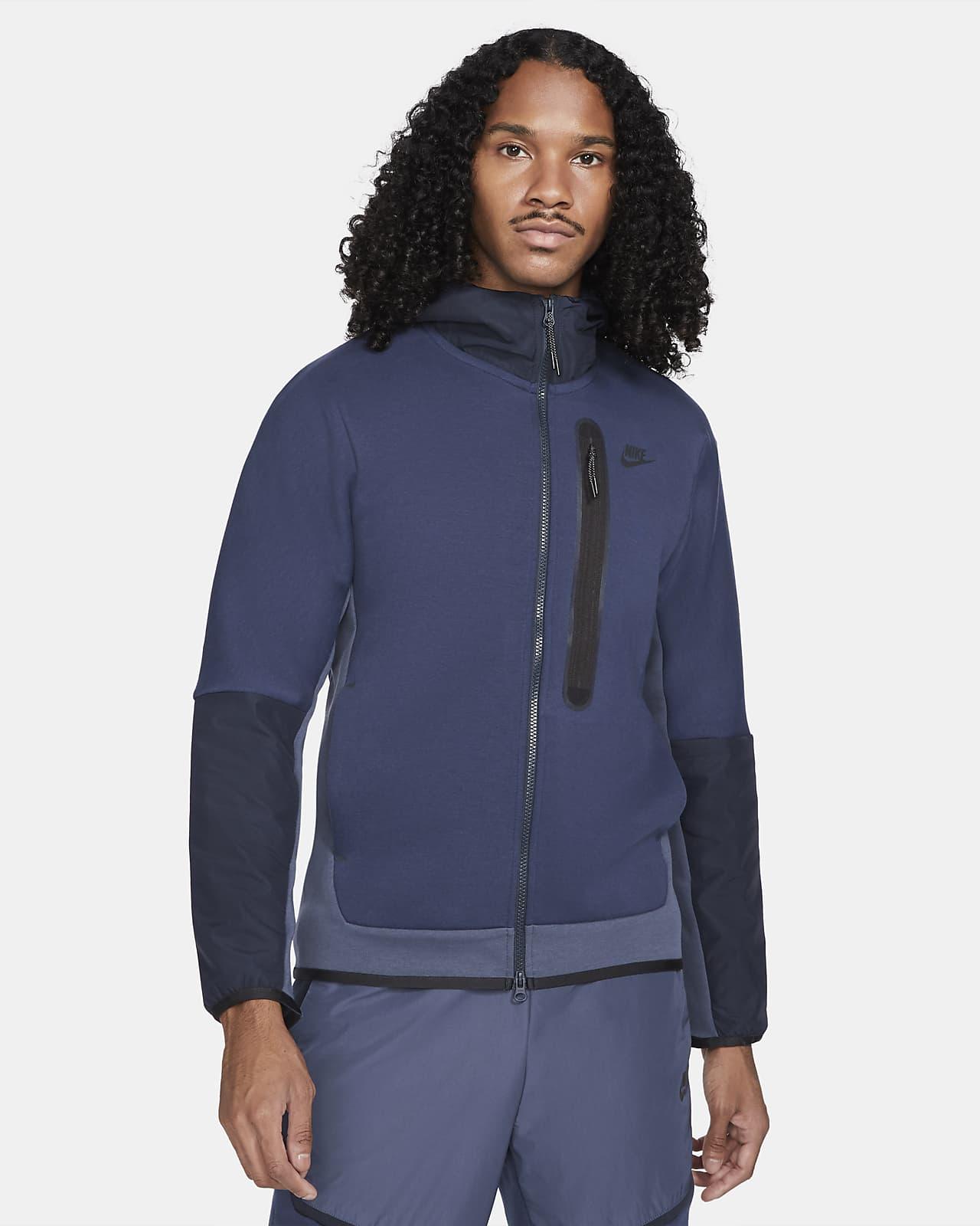 Sweat à capuche tissé à zip Nike Sportswear Tech Fleece pour Homme
