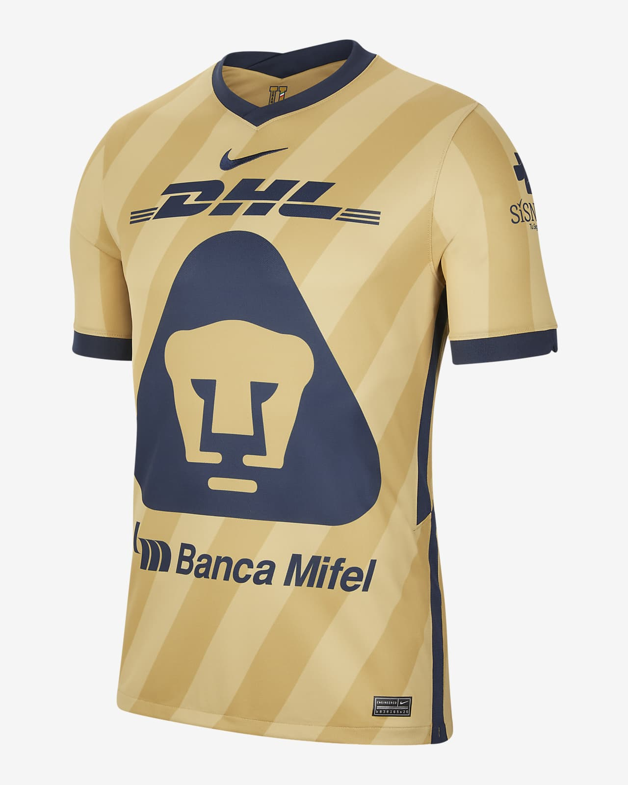 Pumas UNAM 2020/21 Stadium Third Men's Football Shirt