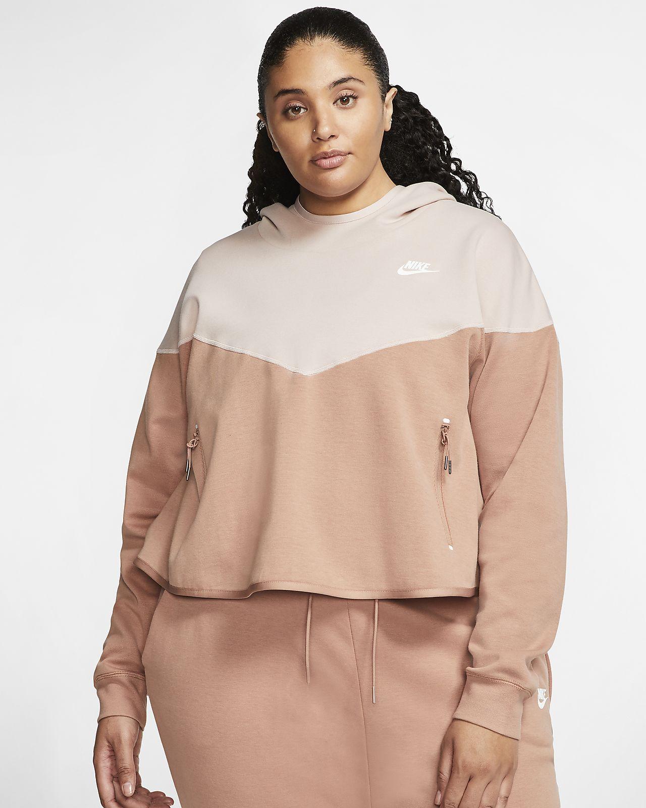 Sudadera con capucha sin cierre para mujer Nike Sportswear Tech Fleece (talla grande)