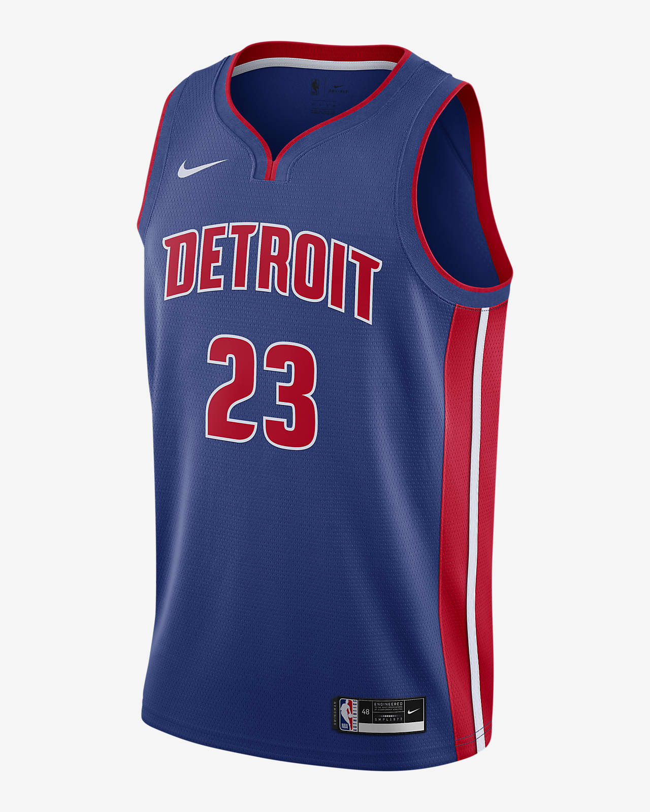 Blake Griffin Pistons Icon Edition 2020 Nike NBA Swingman Jersey