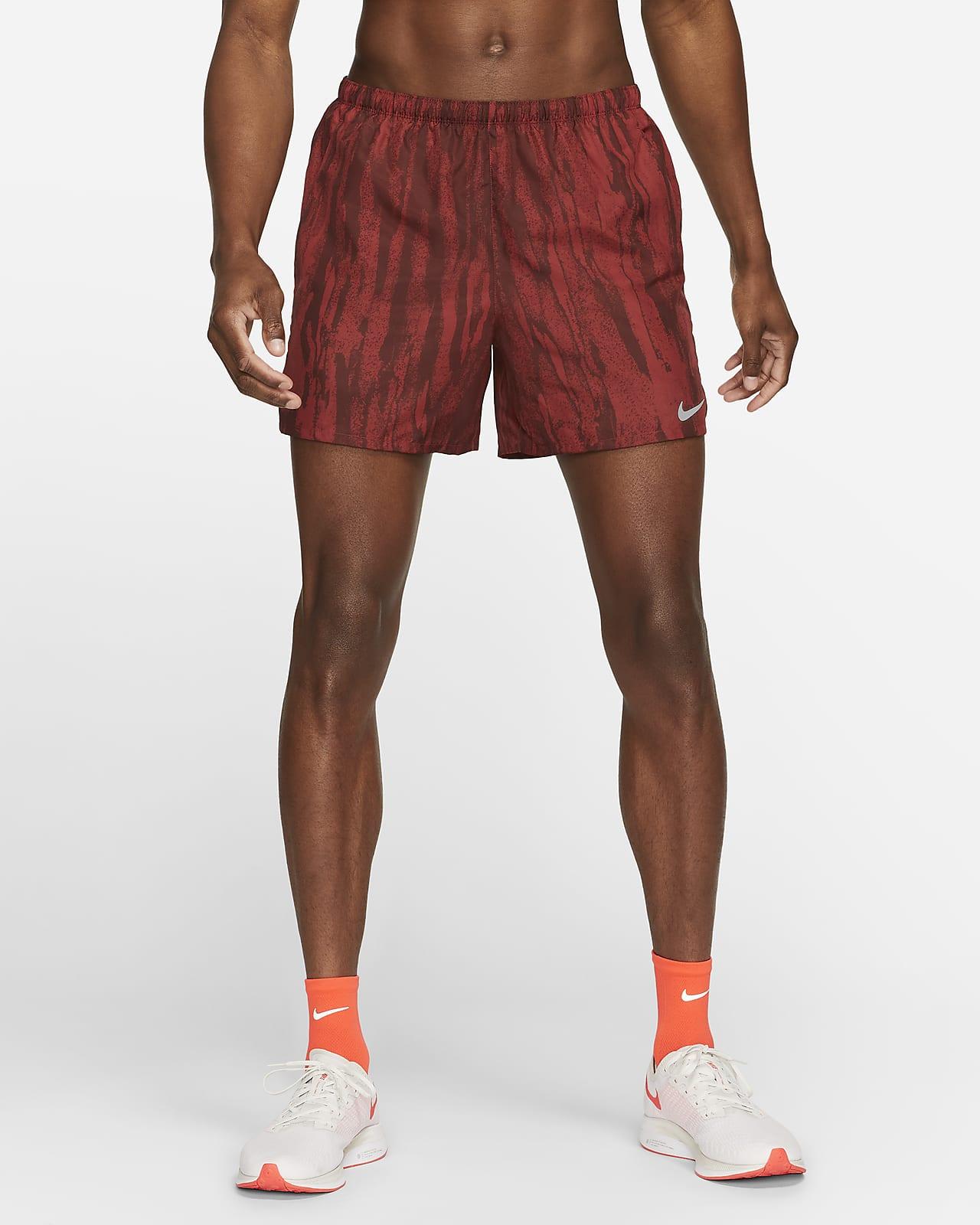 Pantalones cortos de running forrados de 13 cm para hombre Nike Challenger Wild Run