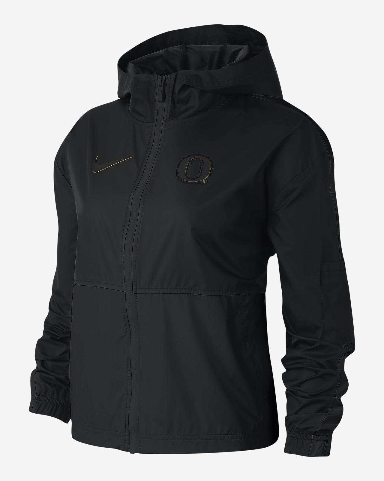 Chamarra para mujer Nike College Windrunner (Oregon)