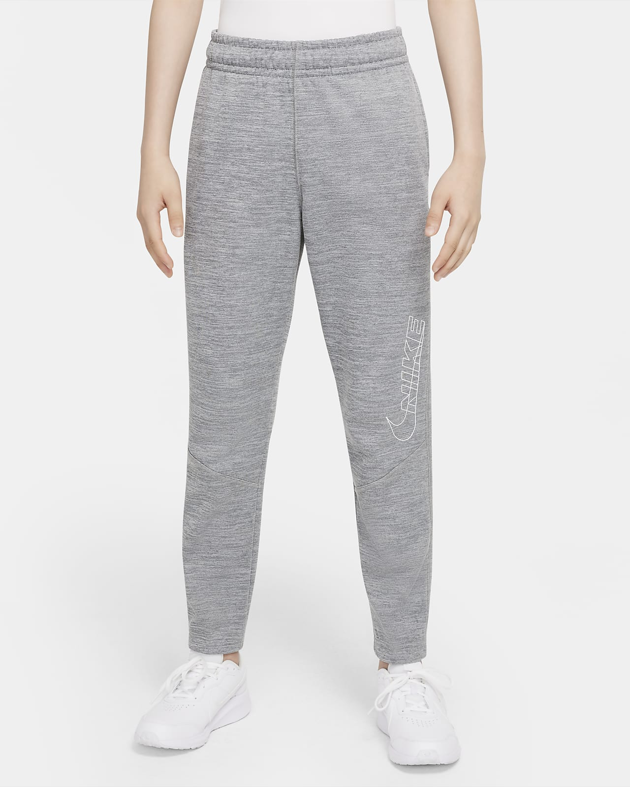 Nike Therma-FIT Big Kids' (Boys') Graphic Tapered Training Pants