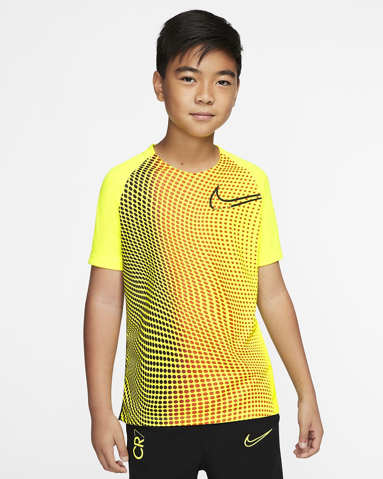 Fotbalové tričko Nike Dri-FIT CR7 s krátkým rukávem pro větší děti
