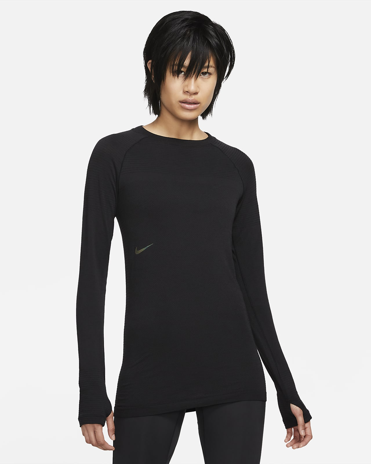 Haut en laine à manches longues Nike NSRL pour Femme