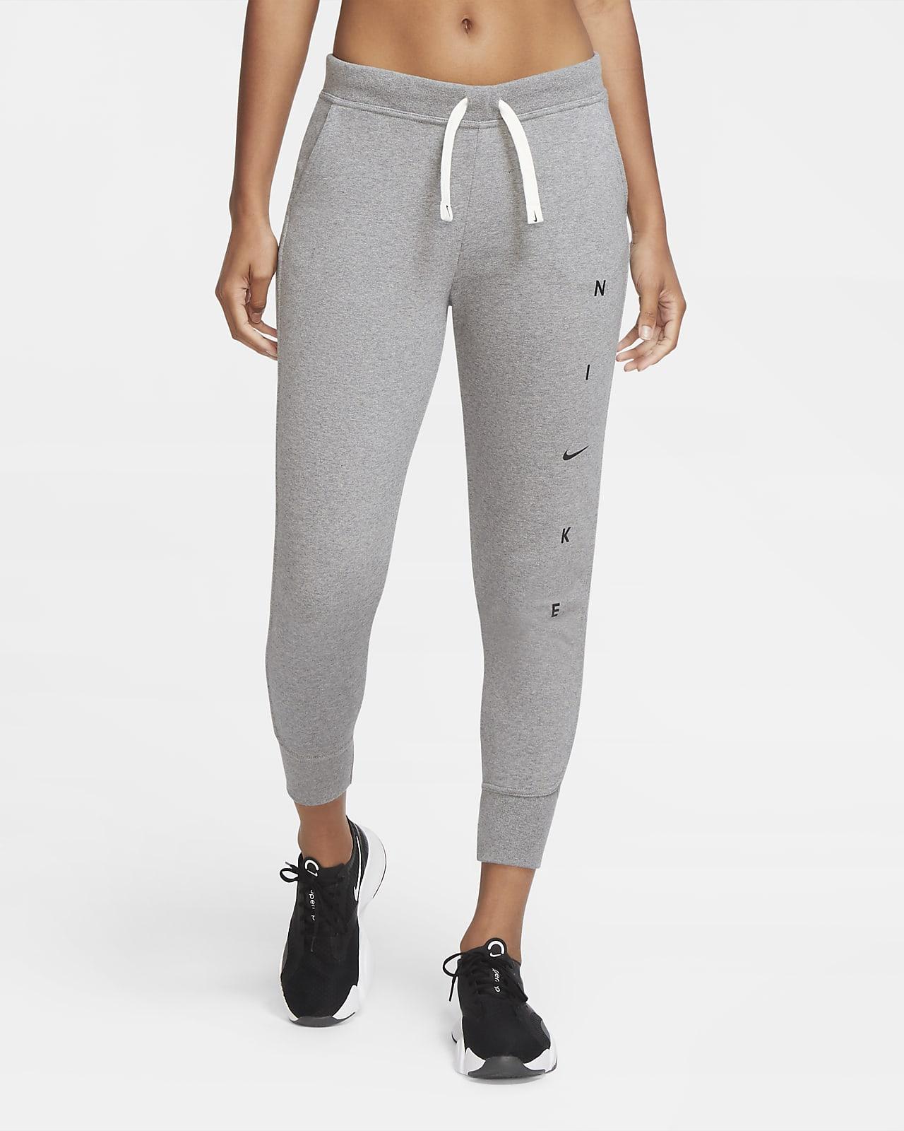 Nike Dri-FIT Get Fit Damen-Trainingshose mit Grafik
