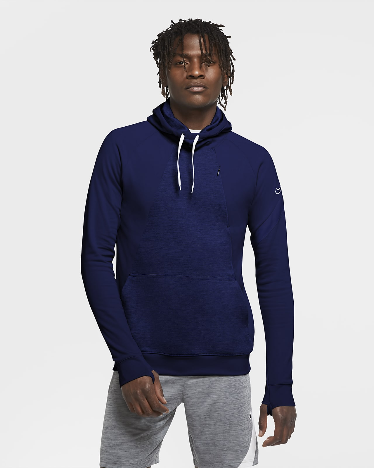 Nike Dri-FIT Academy Fußball-Pullover-Hoodie für Herren