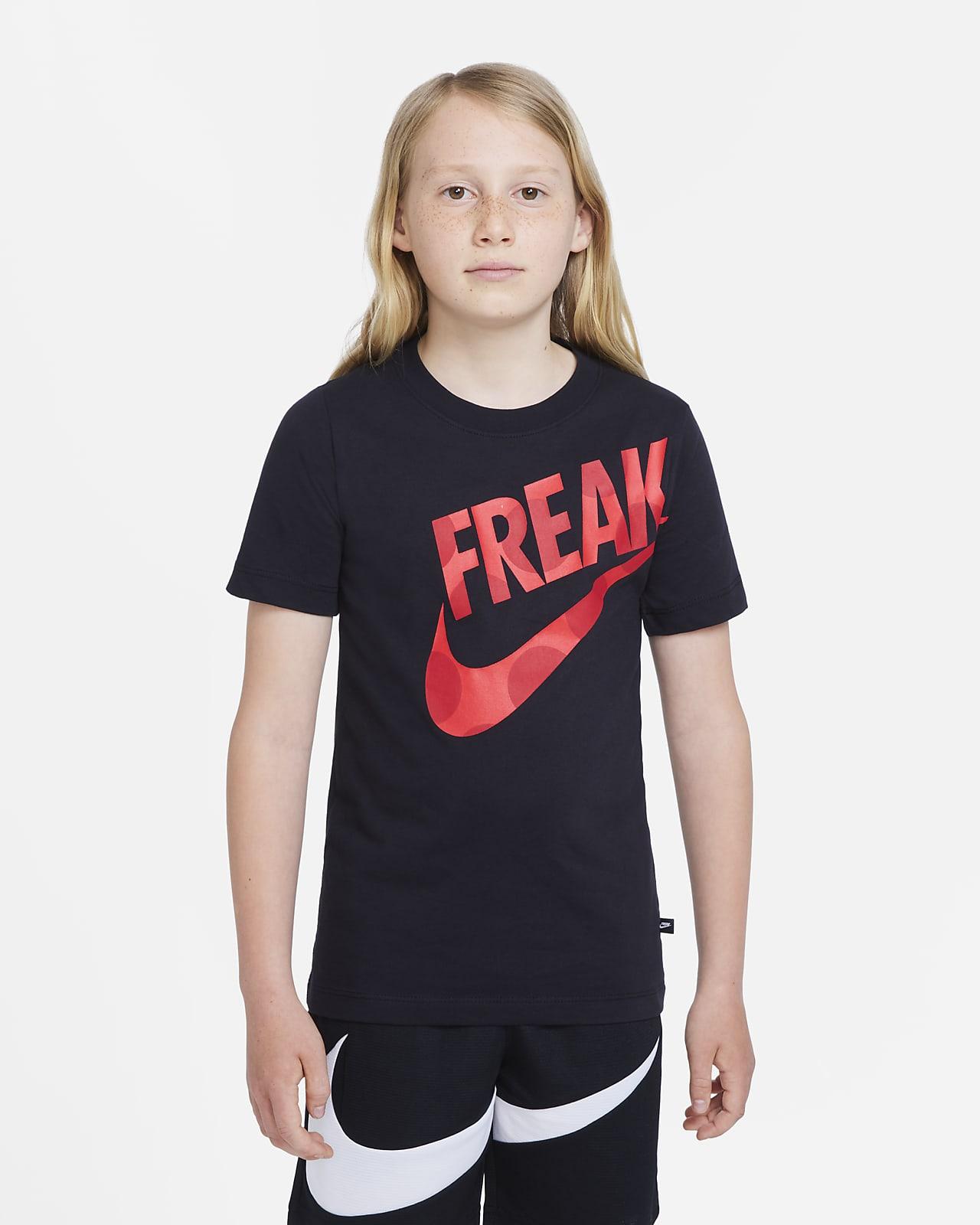 Nike Dri-FIT Giannis T-skjorte til store barn (gutt)