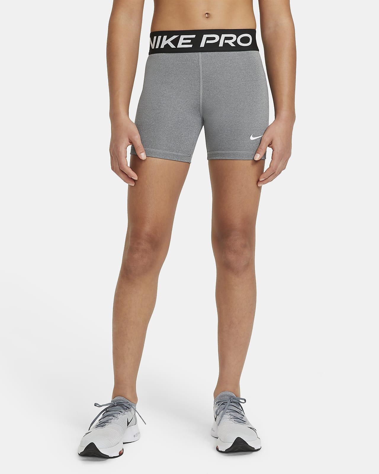 Nike Pro-shorts til større børn (piger)