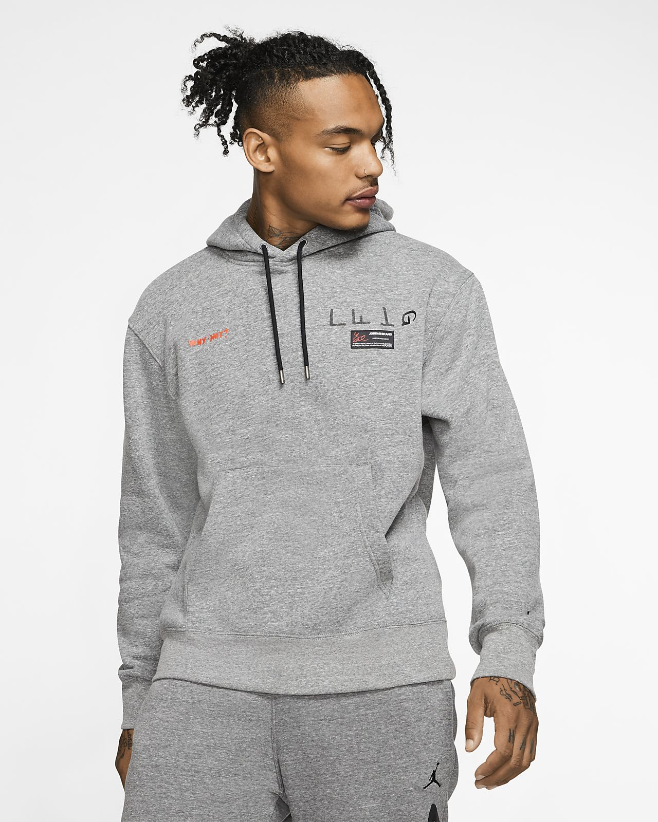 Jordan x Russell Westbrook Why Not? Men's Fleece Pullover