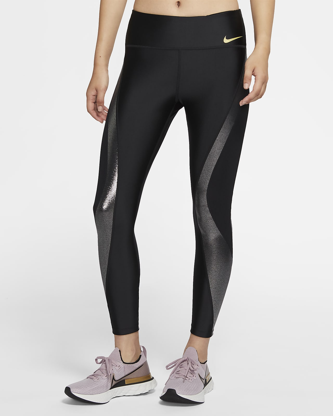 Nike Icon Clash Speed 7/8 女子跑步紧身裤