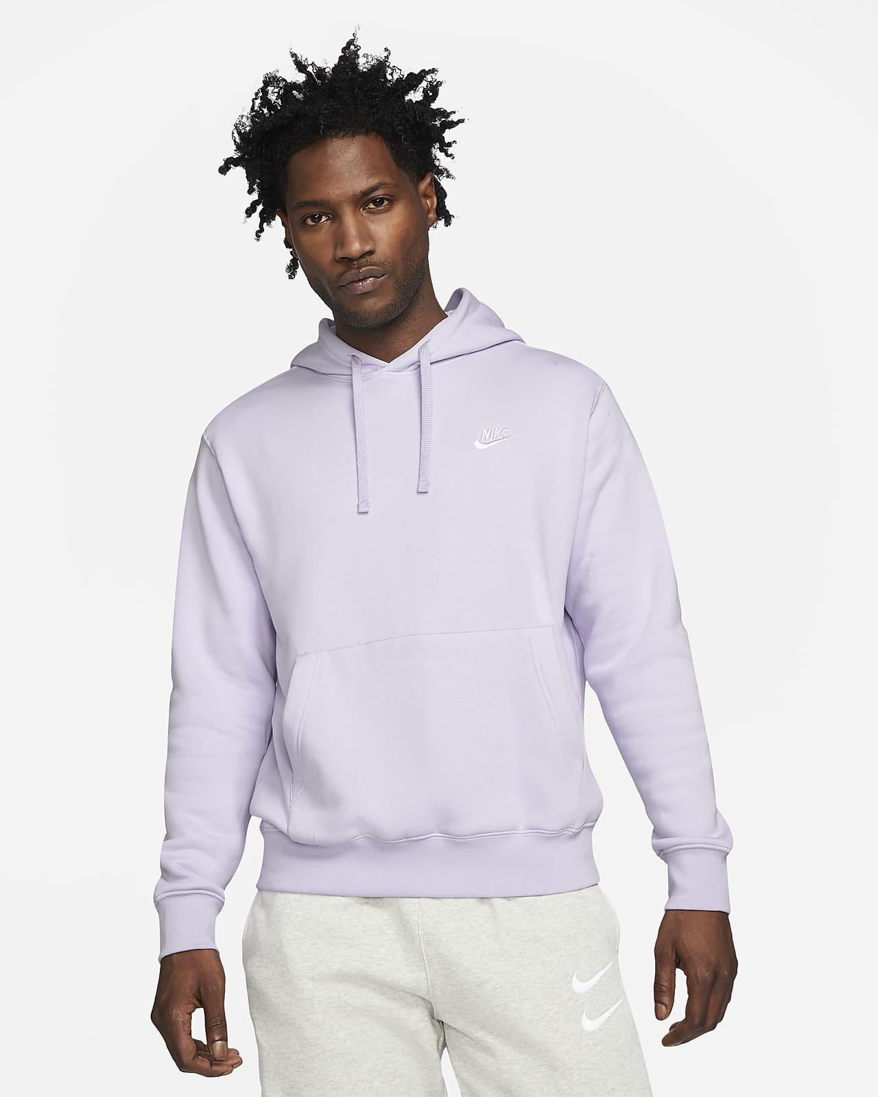 Felpa pullover con cappuccio Nike Sportswear Club Fleece - Uomo