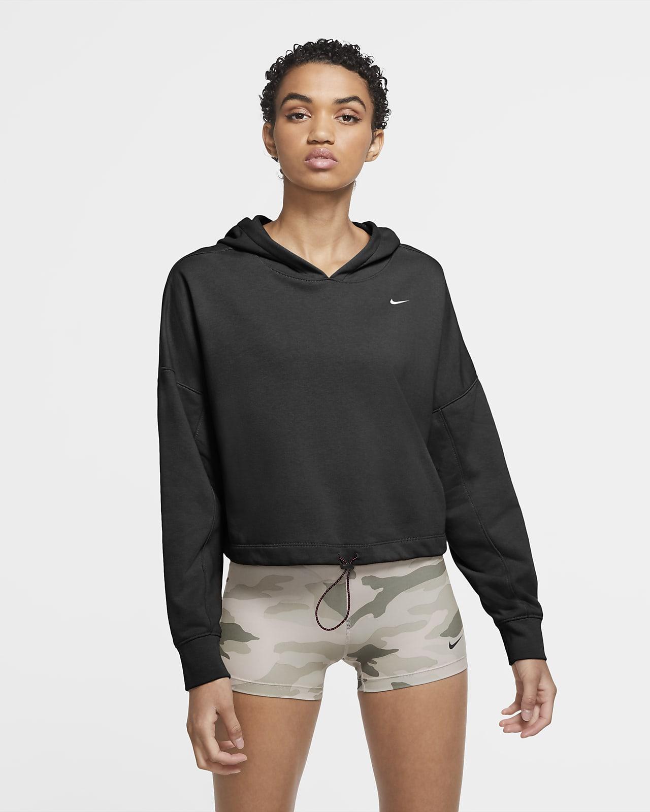 Nike Icon Clash 女子短款训练连帽衫