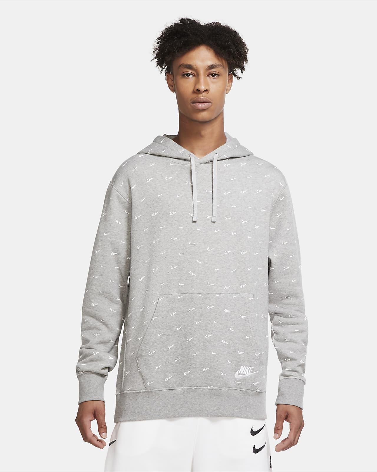 Nike Sportswear Club Fleece Men's Printed Pullover Hoodie