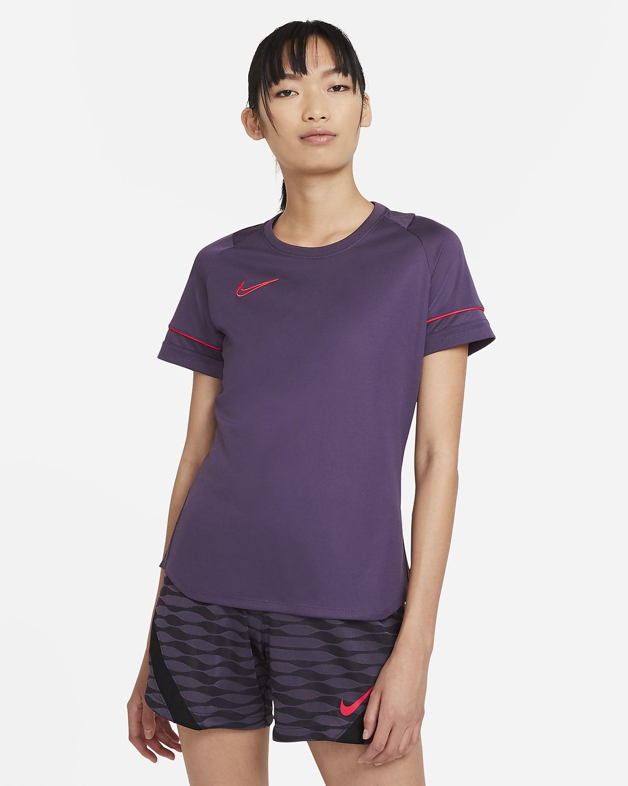 Camiseta de fútbol para mujer Nike Dri-FIT Academy