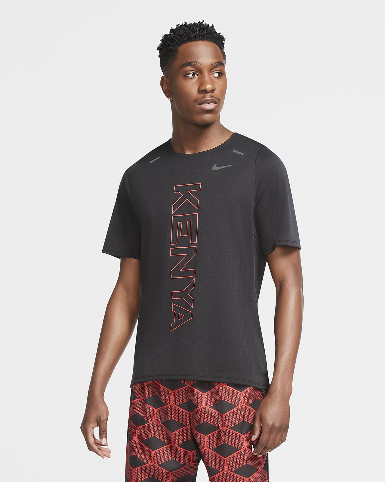 Löpartröja Nike Dri-FIT Team Kenya Rise 365 för män