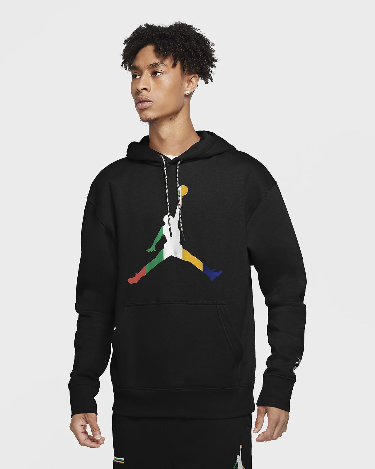 Ανδρική φλις μπλούζα με κουκούλα Jordan Sport DNA