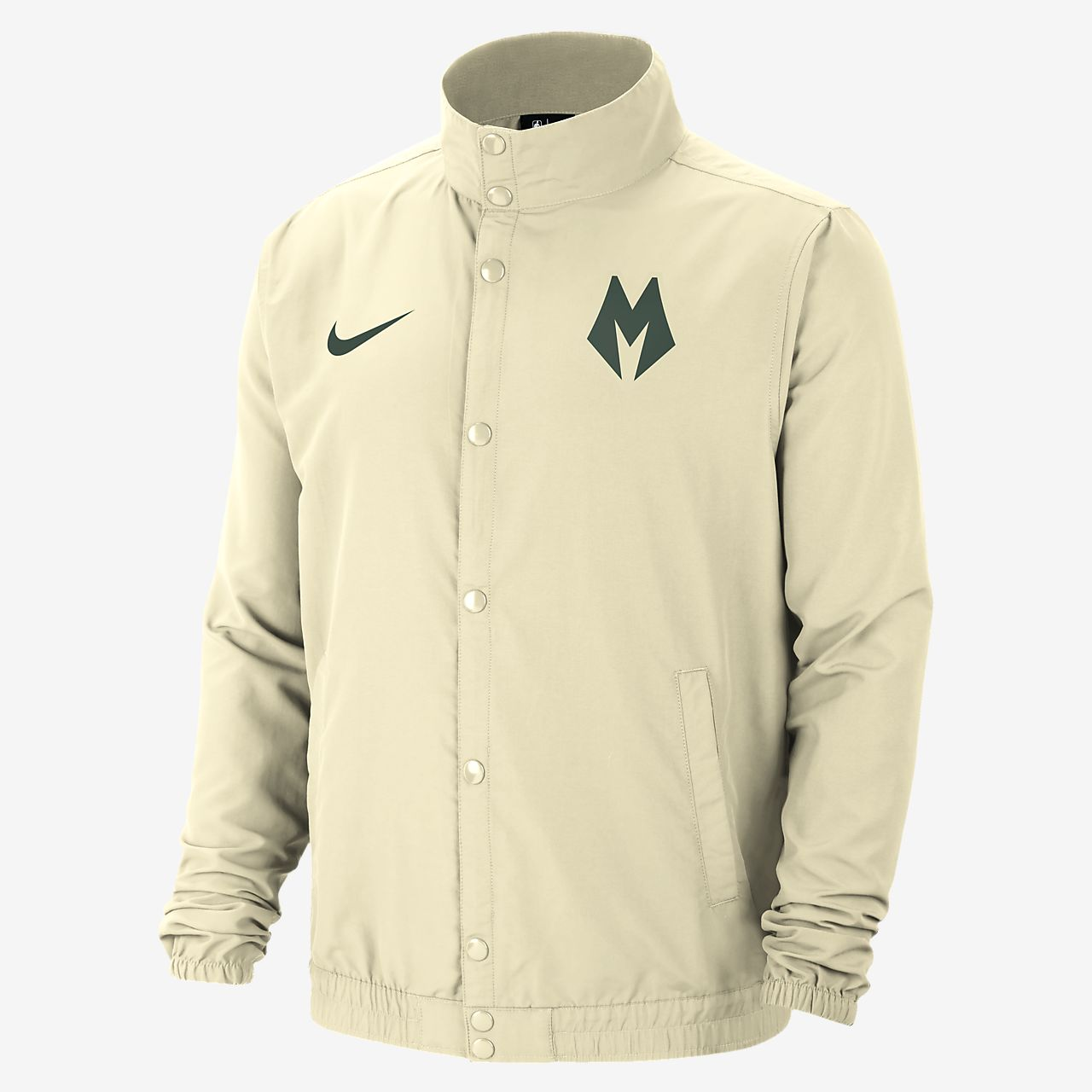Chamarra Nike NBA para hombre Milwakee Bucks City Edition