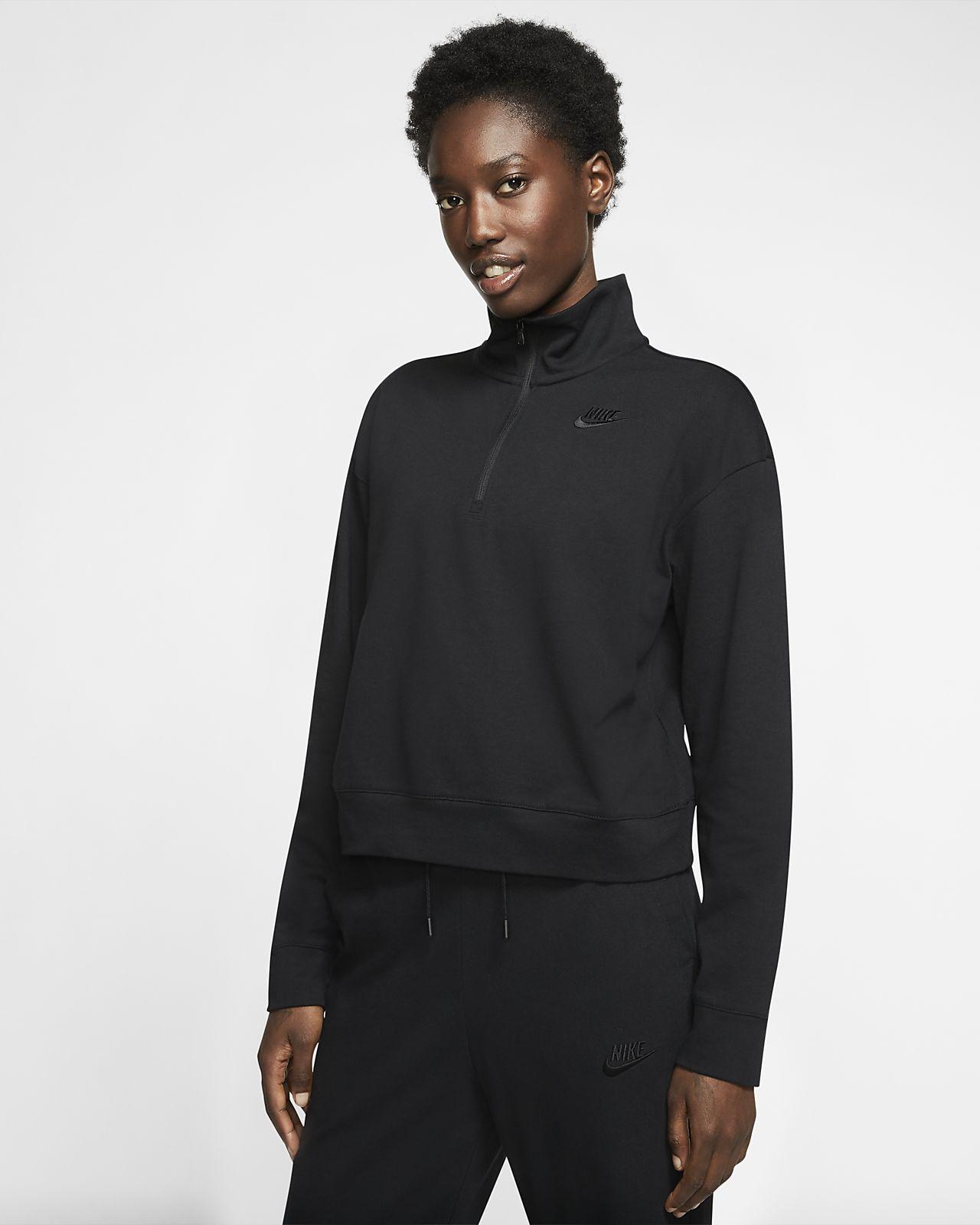 Nike Sportswear Women's 1/2-Zip Long-Sleeve Top