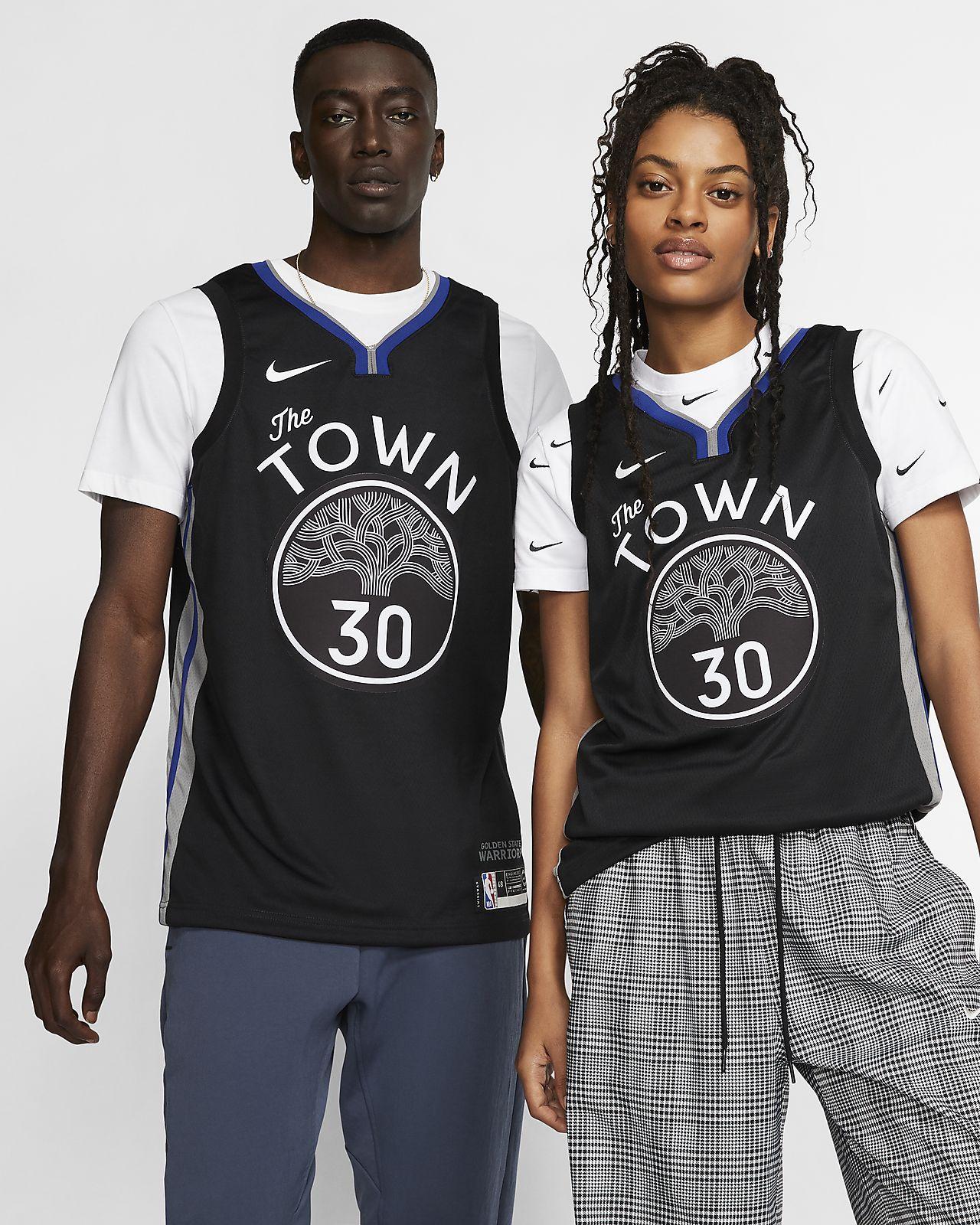 Dres Nike NBA Swingman Stephen Curry Warriors – City Edition