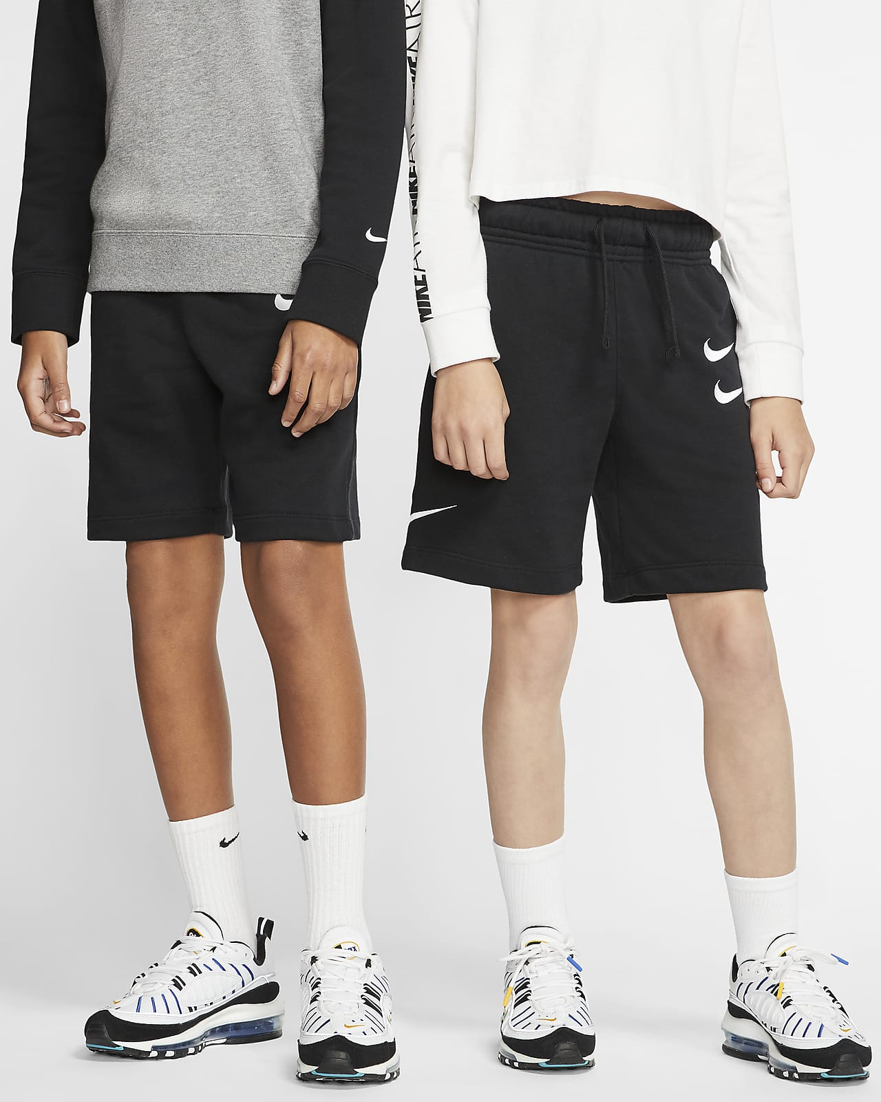 Shorts i french terry Nike Sportswear för ungdom