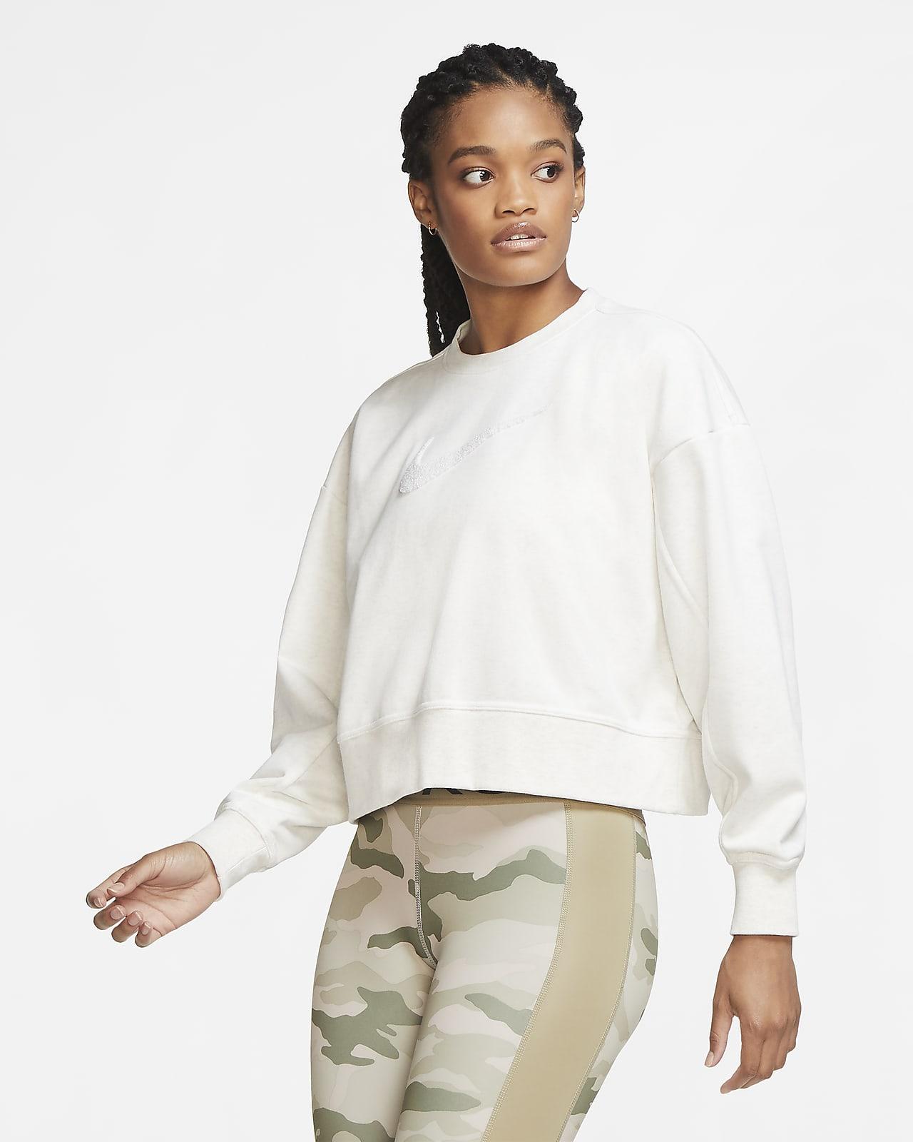 Damska bluza treningowa z logo Swoosh Nike Dri-FIT Get Fit