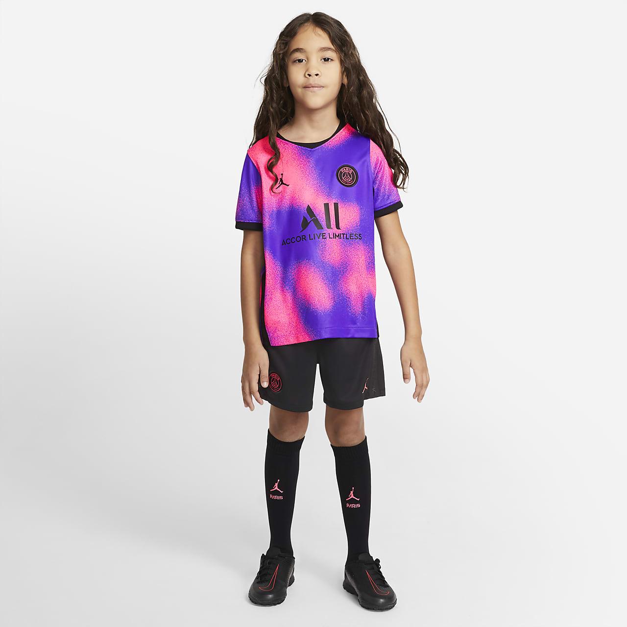 Divisa da calcio Paris Saint-Germain 2021/22 per bambini - Quarta