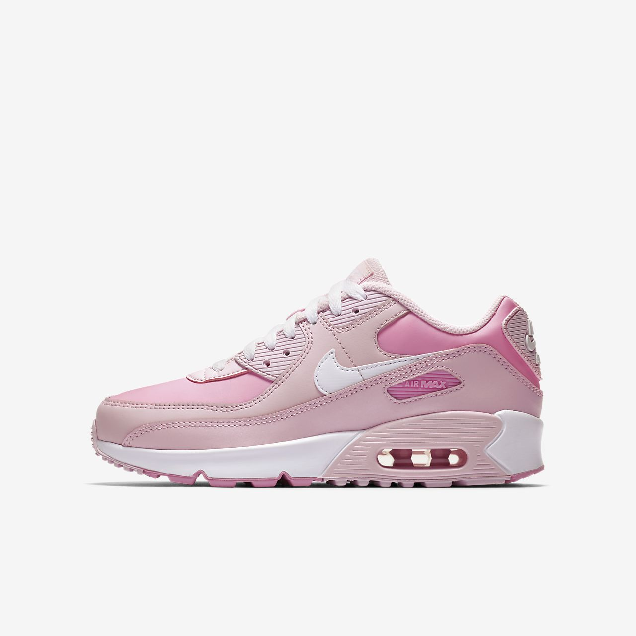 nike air max 90 roze wit