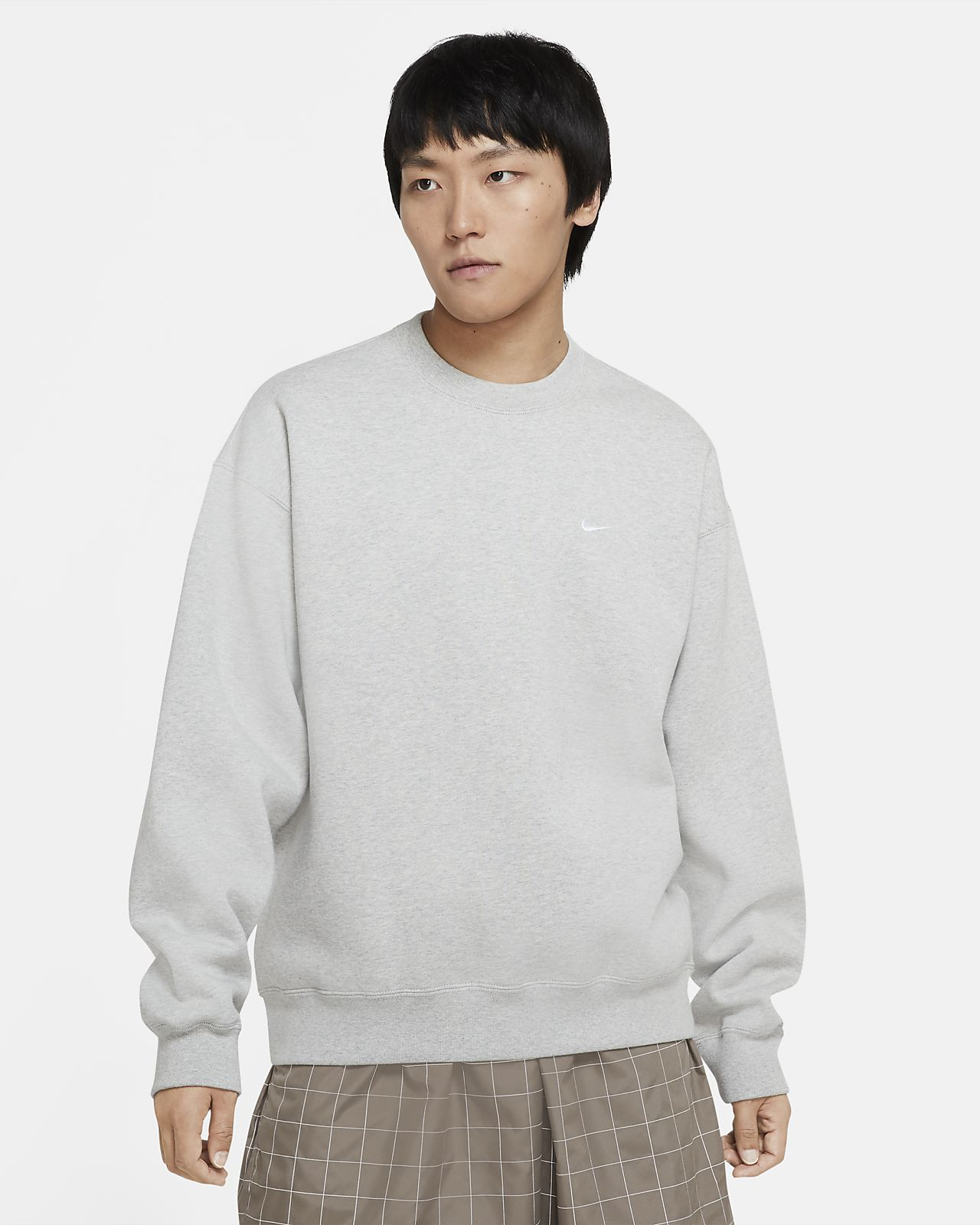 เสื้อคอกลมผ้าฟลีซ NikeLab