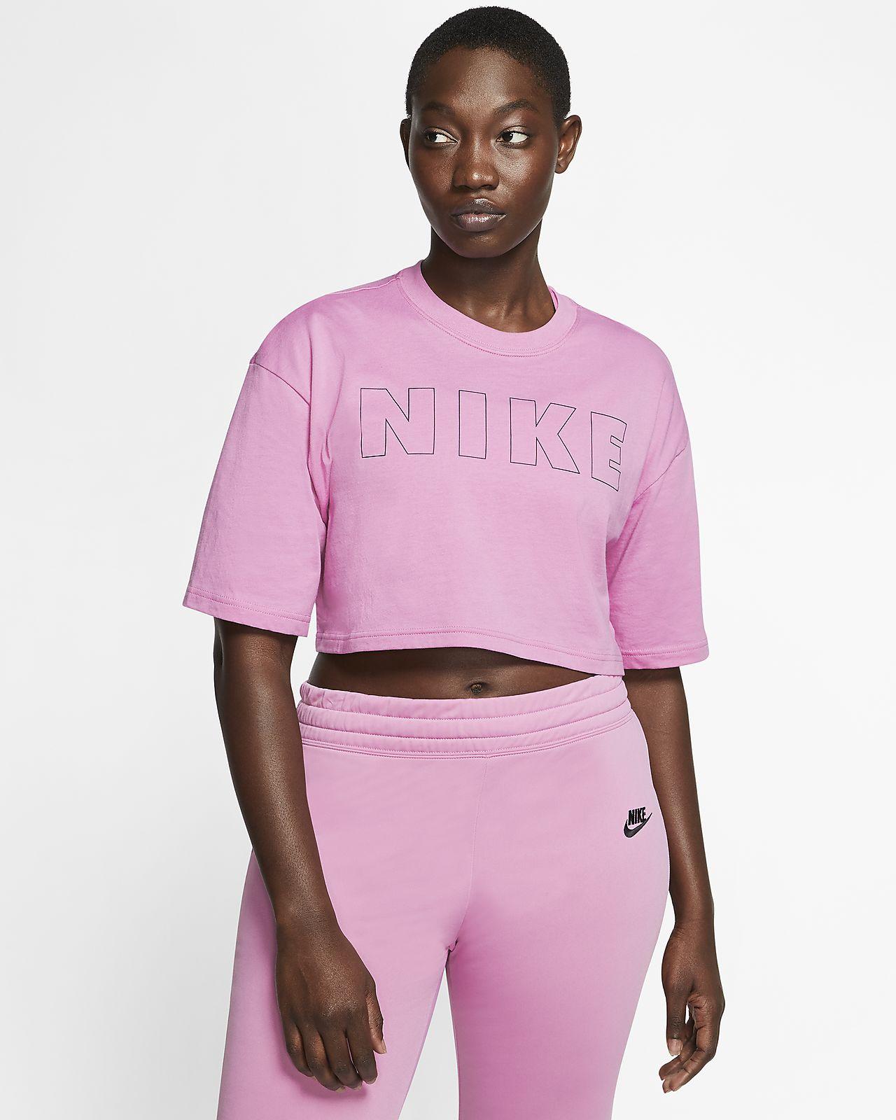 Kort Nike Air T shirt til kvinder. Nike DK