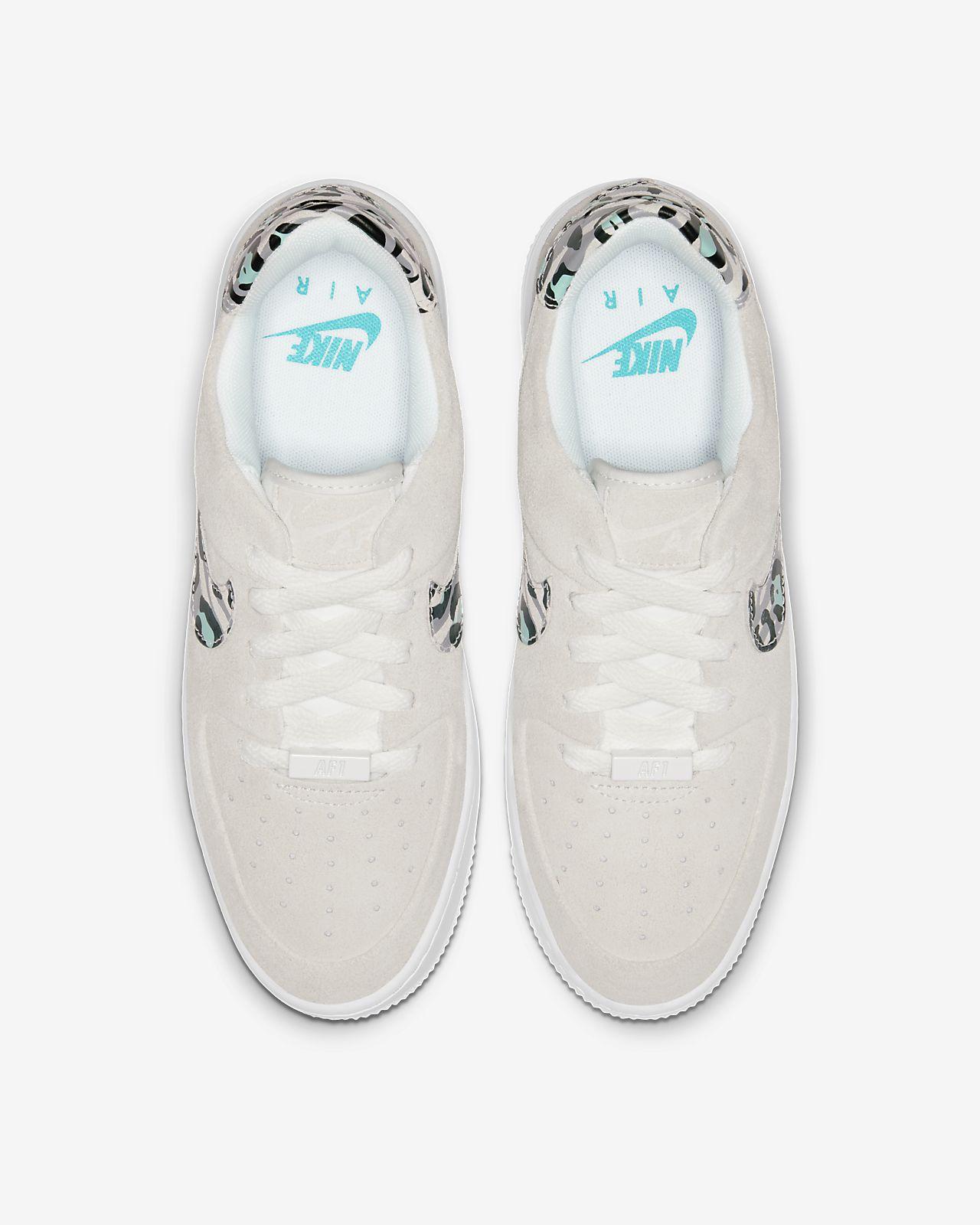 Nike Air Force 1 Sage Low Damesschoen met dierenprint
