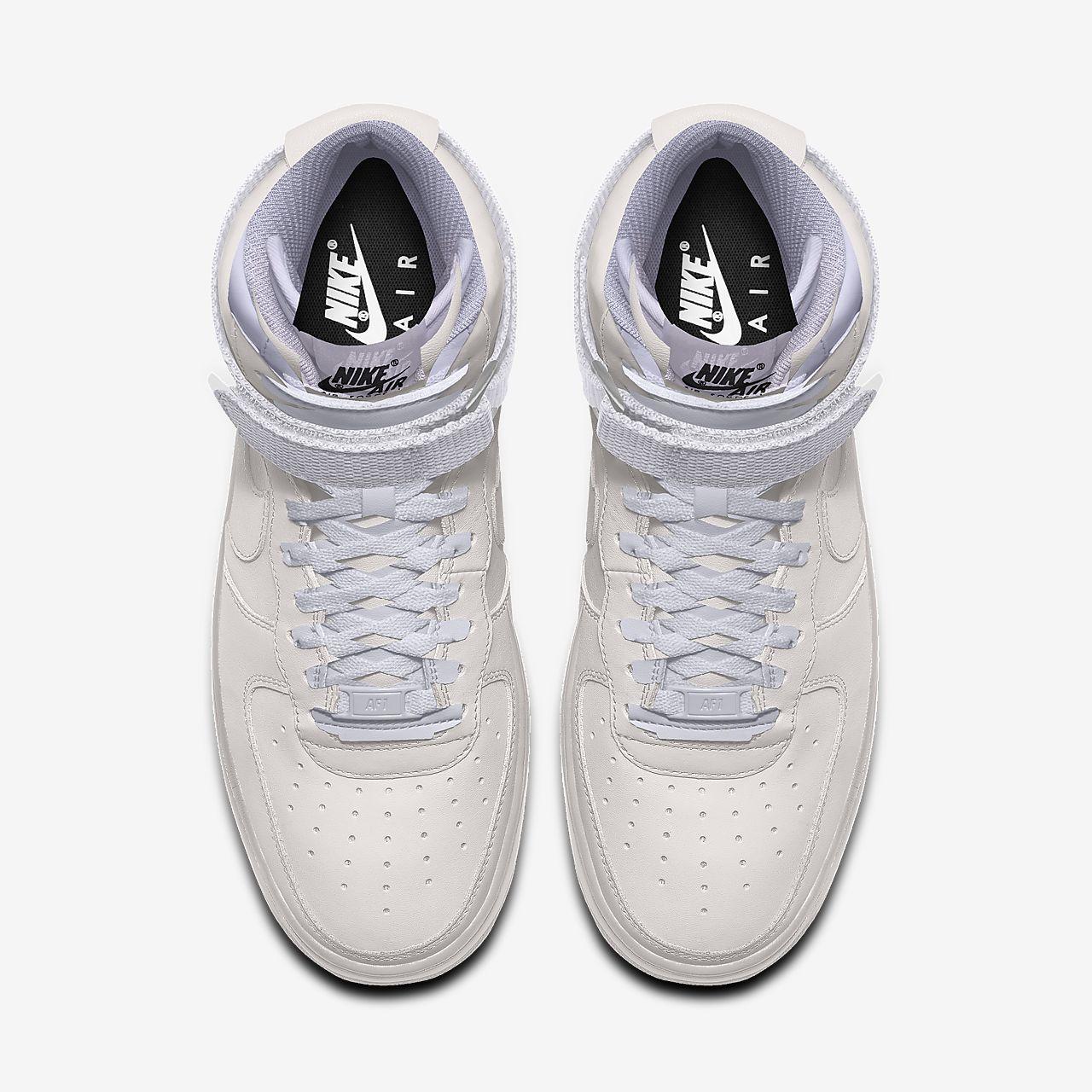 Calzado para hombre personalizado Nike Air Force 1 High By You