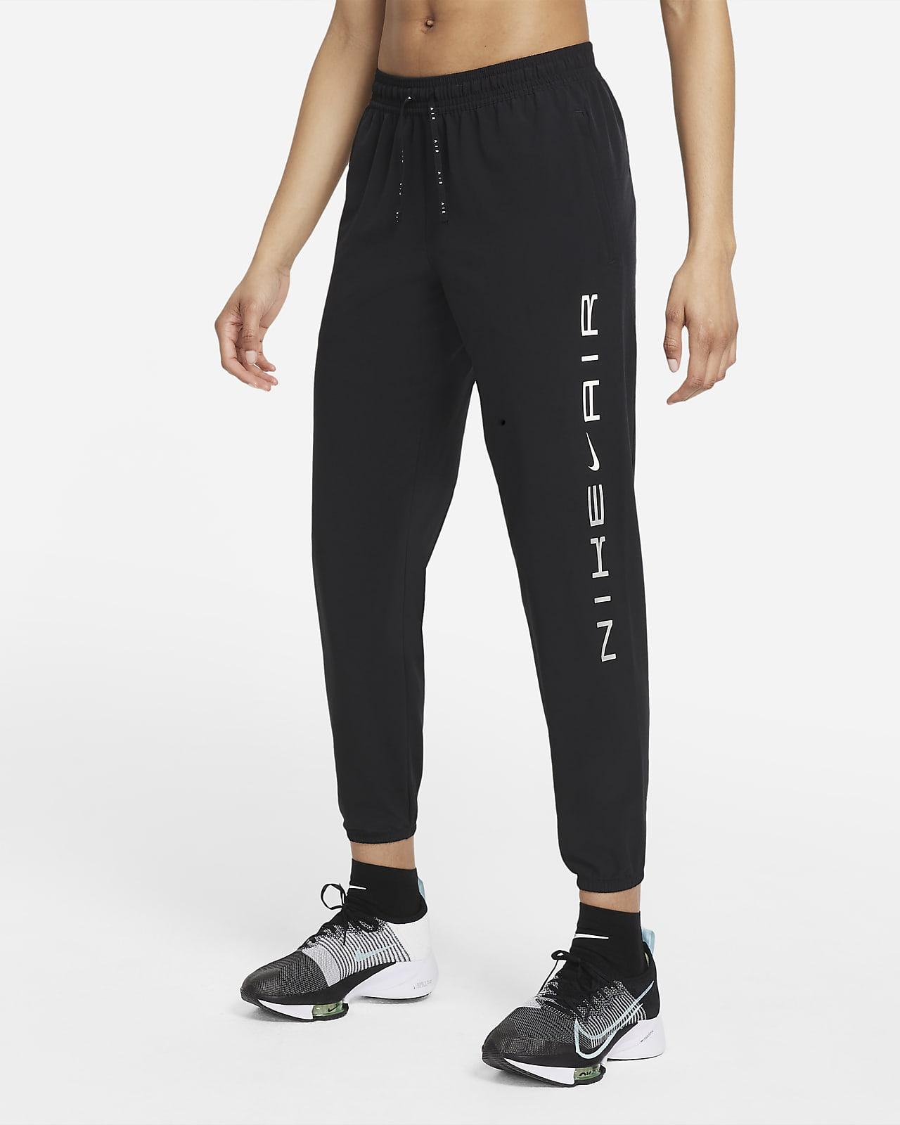 กางเกงวิ่งขายาวผู้หญิง Nike Air Dri-FIT