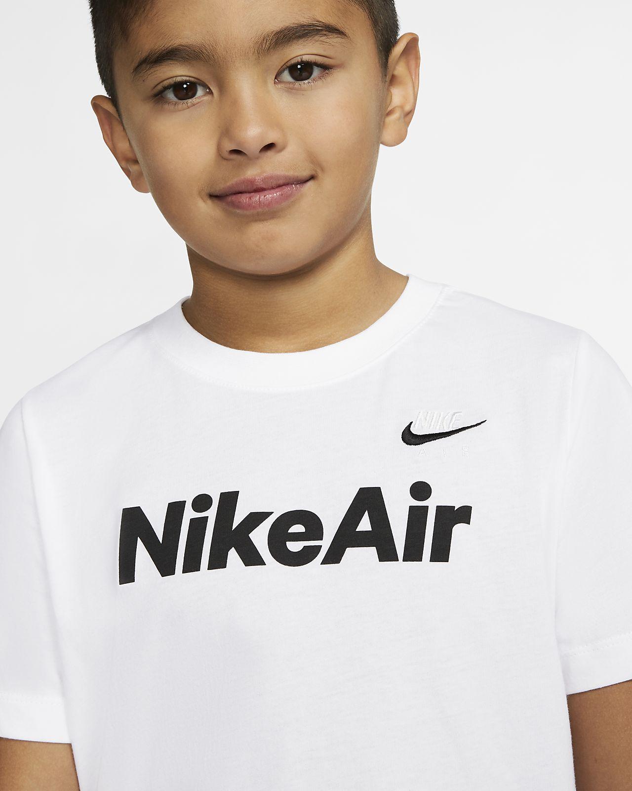 Nike 'Air Force 1' Logo T Shirt (Little Boys & Big Boys