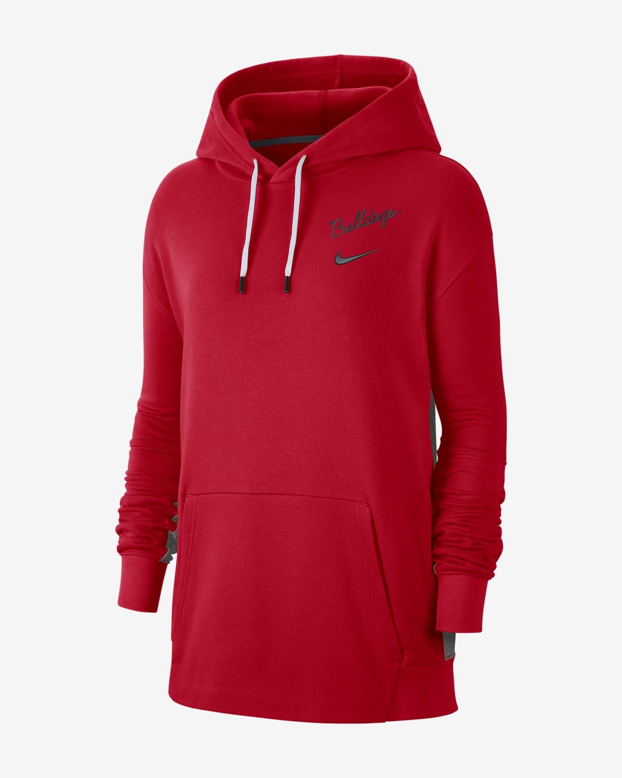 Nike College (Georgia) Women's Fleece Pullover Hoodie