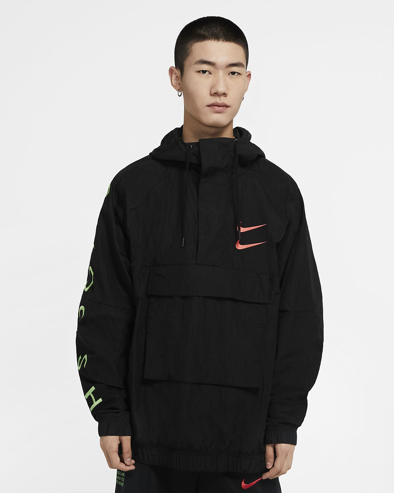 Nike Sportswear Swoosh Geweven herenjack